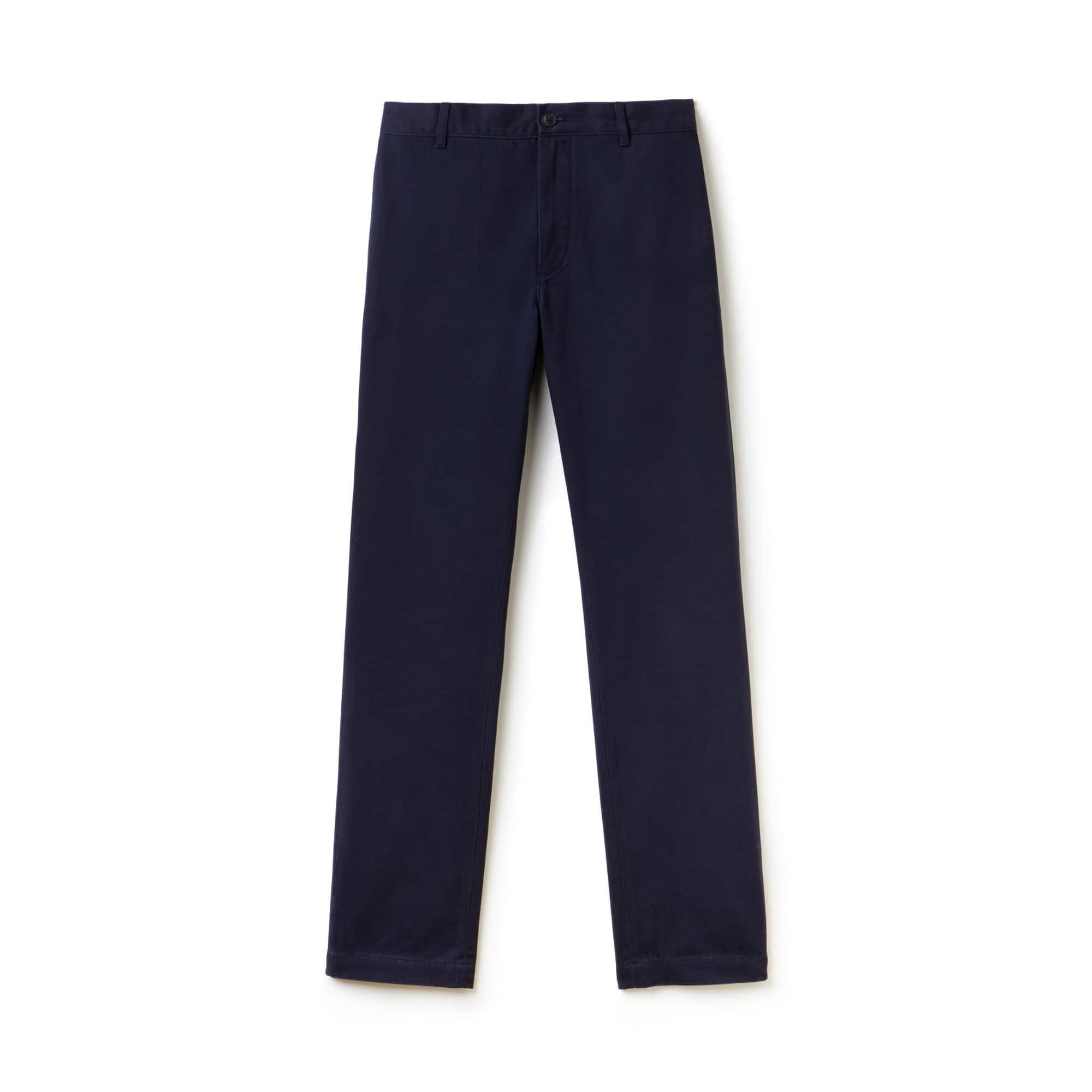 Men's Regular Fit Cotton Gabardine Chino Pants