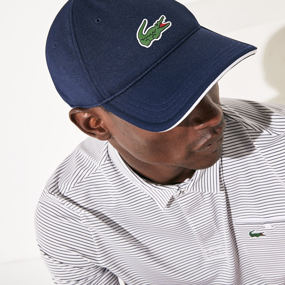 Men's Lacoste SPORT Breathable Piqué Golf Cap