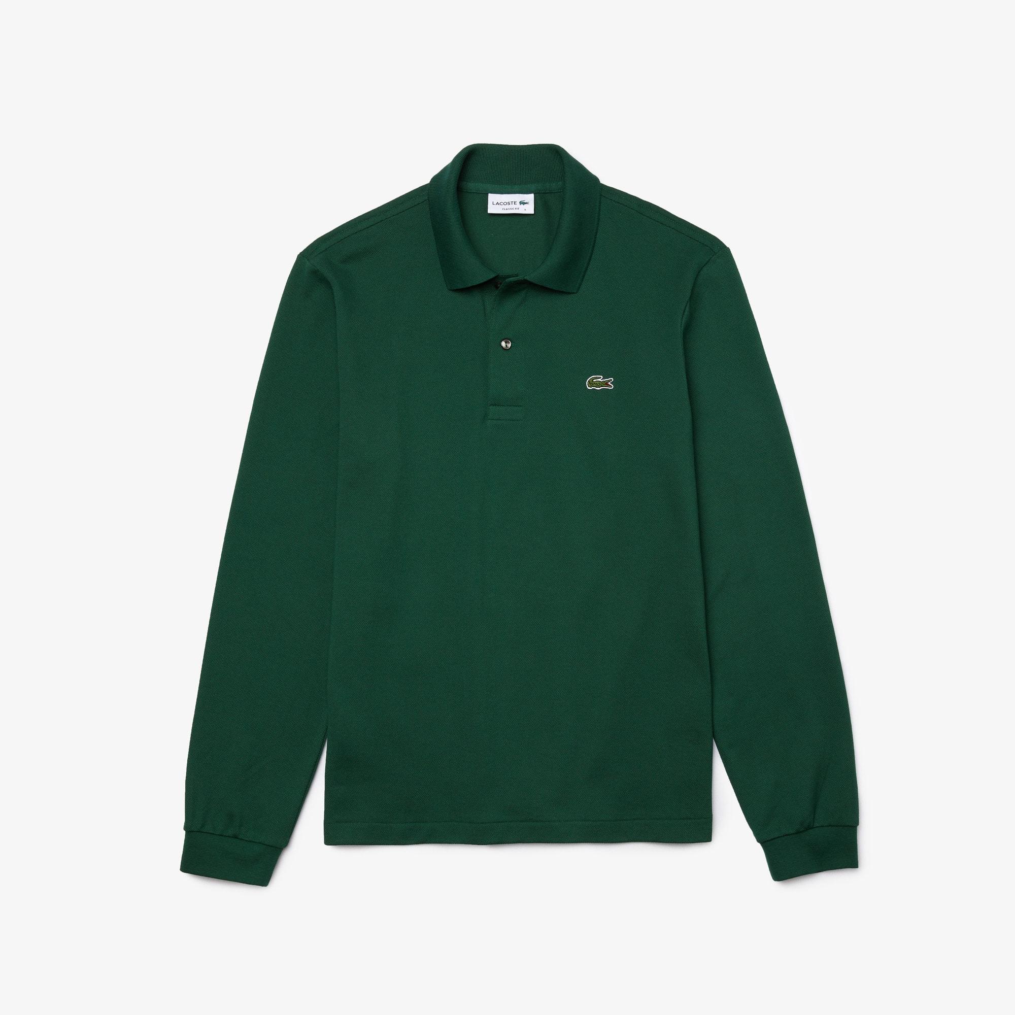 Long-sleeve Lacoste L.12.12 Polo Shirt