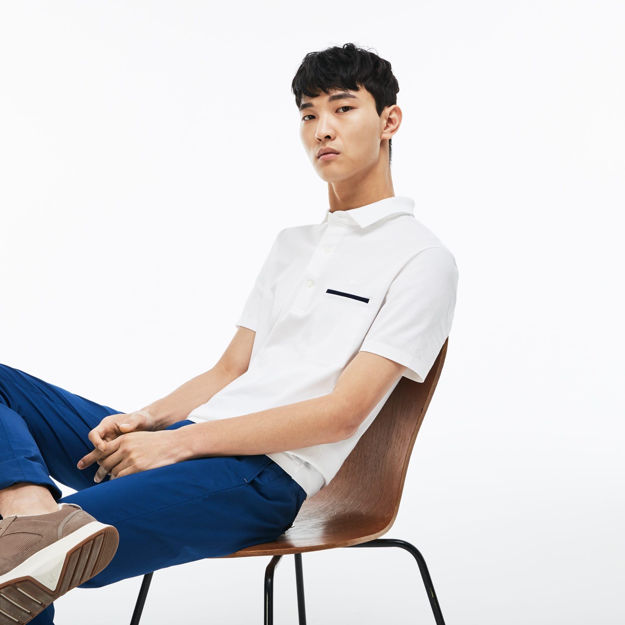 Men's Lacoste Slim Fit Mini Piqué Polo Shirt