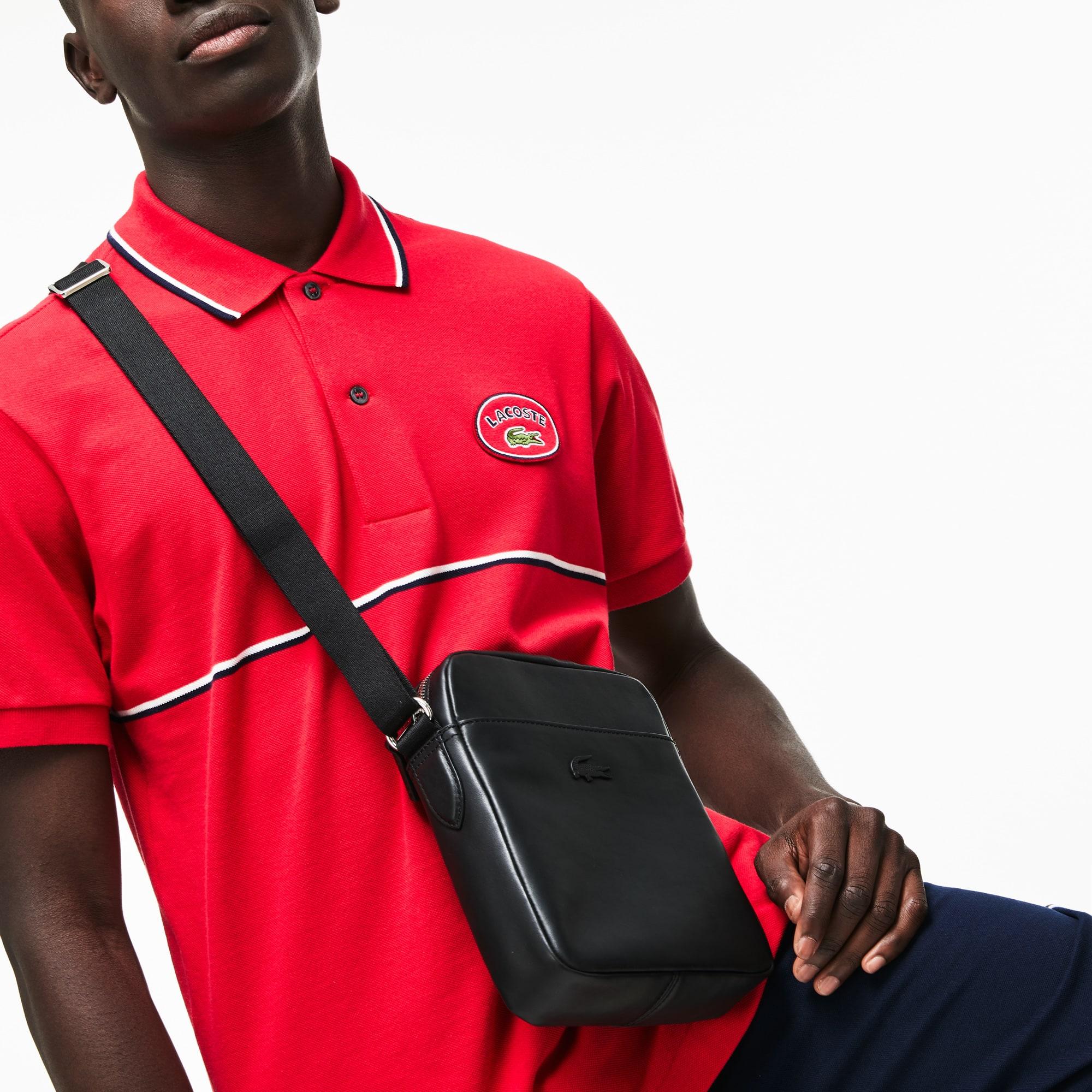 Men's L.12.12 Business Vertical Leather Bag
