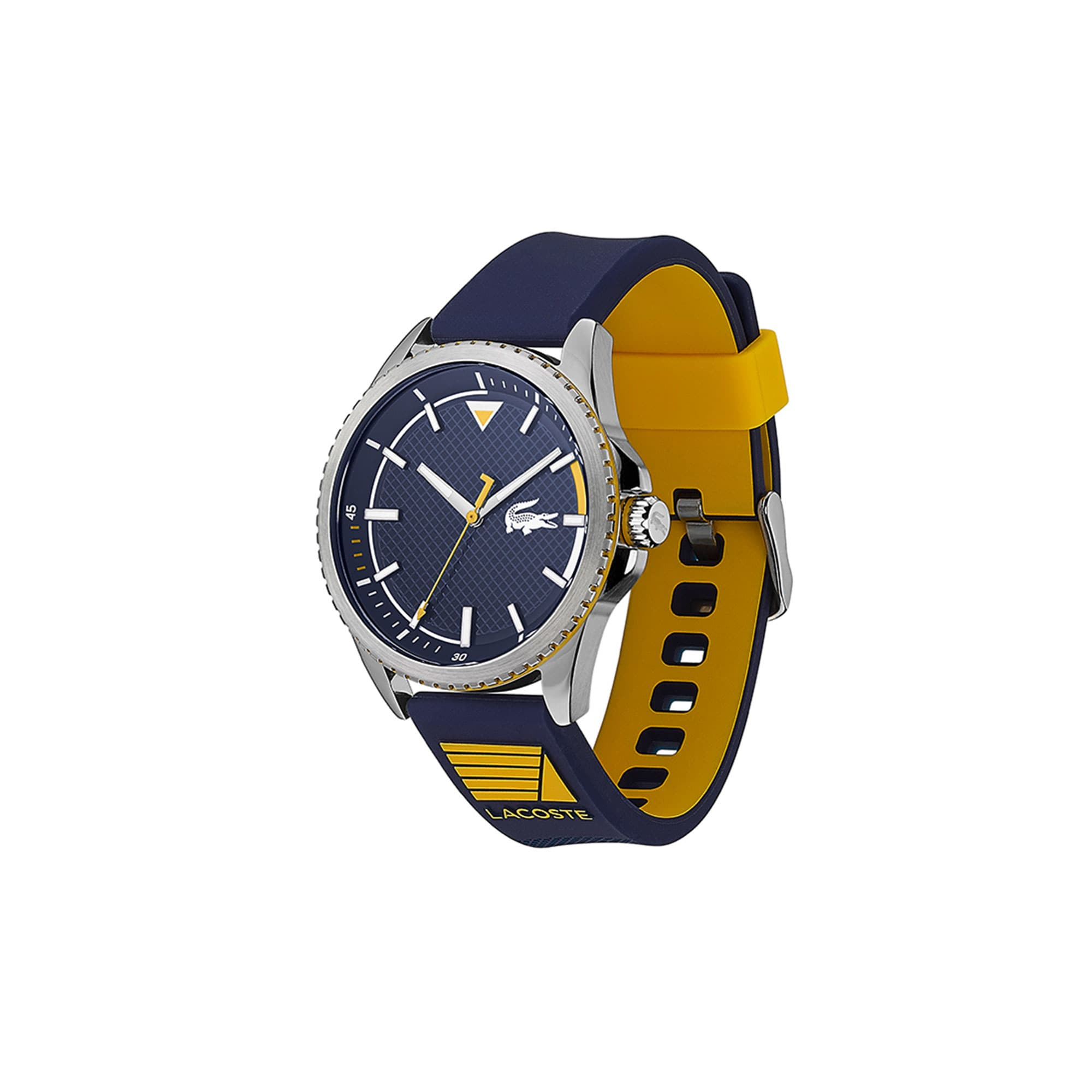 Gents Cap Marino Watch with Silicone Petit Piqué Strap