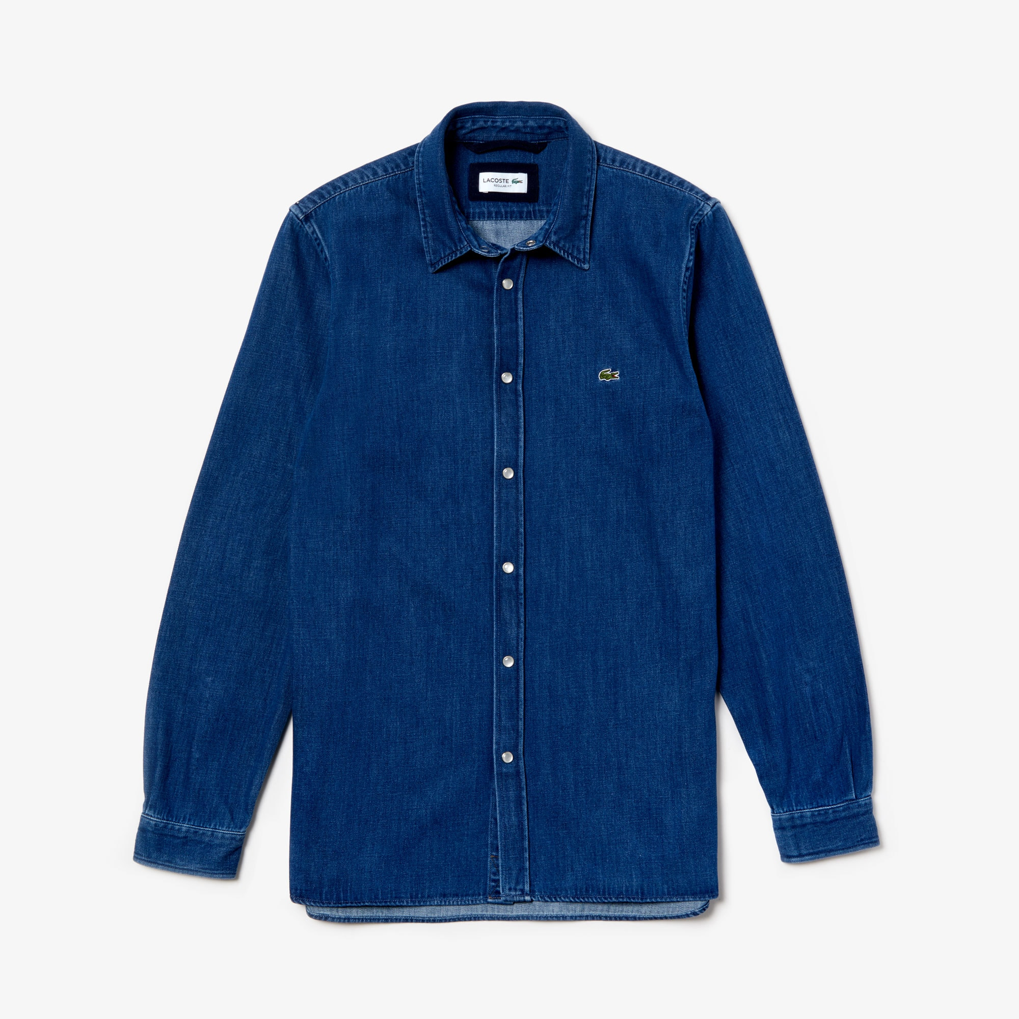 Men's Loose Fit Snap Denim Shirt