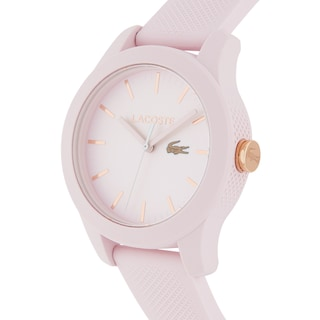 Women's Lacoste 12.12 Watch with Pink Silicone Strap