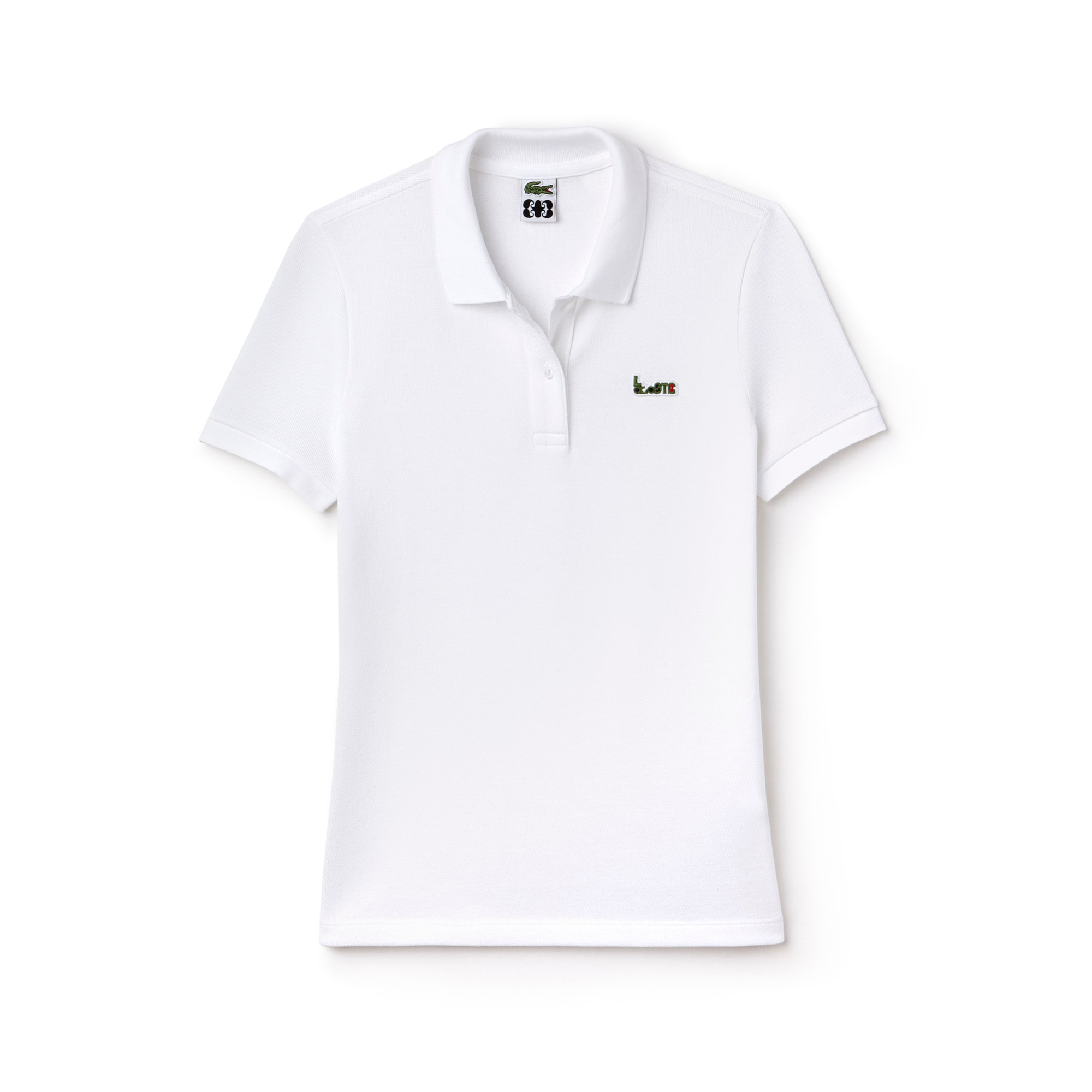 Women's Lacoste M/M Collab Slim Fit Thick Cotton Piqué Polo