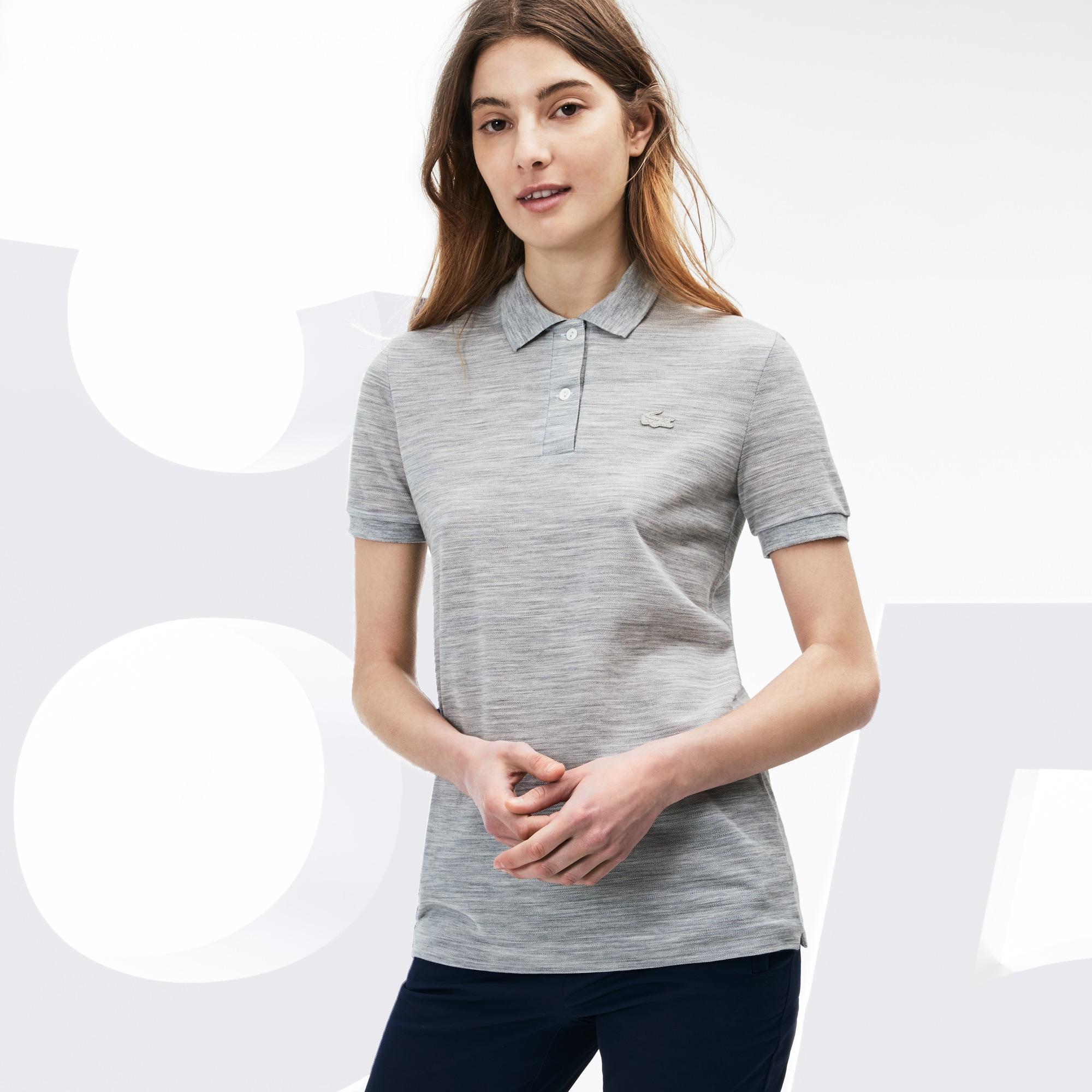 10f818708c5944 Women s Lacoste 85th Anniversary Limited Edition Classic Fit Wool Piqué Polo  ...