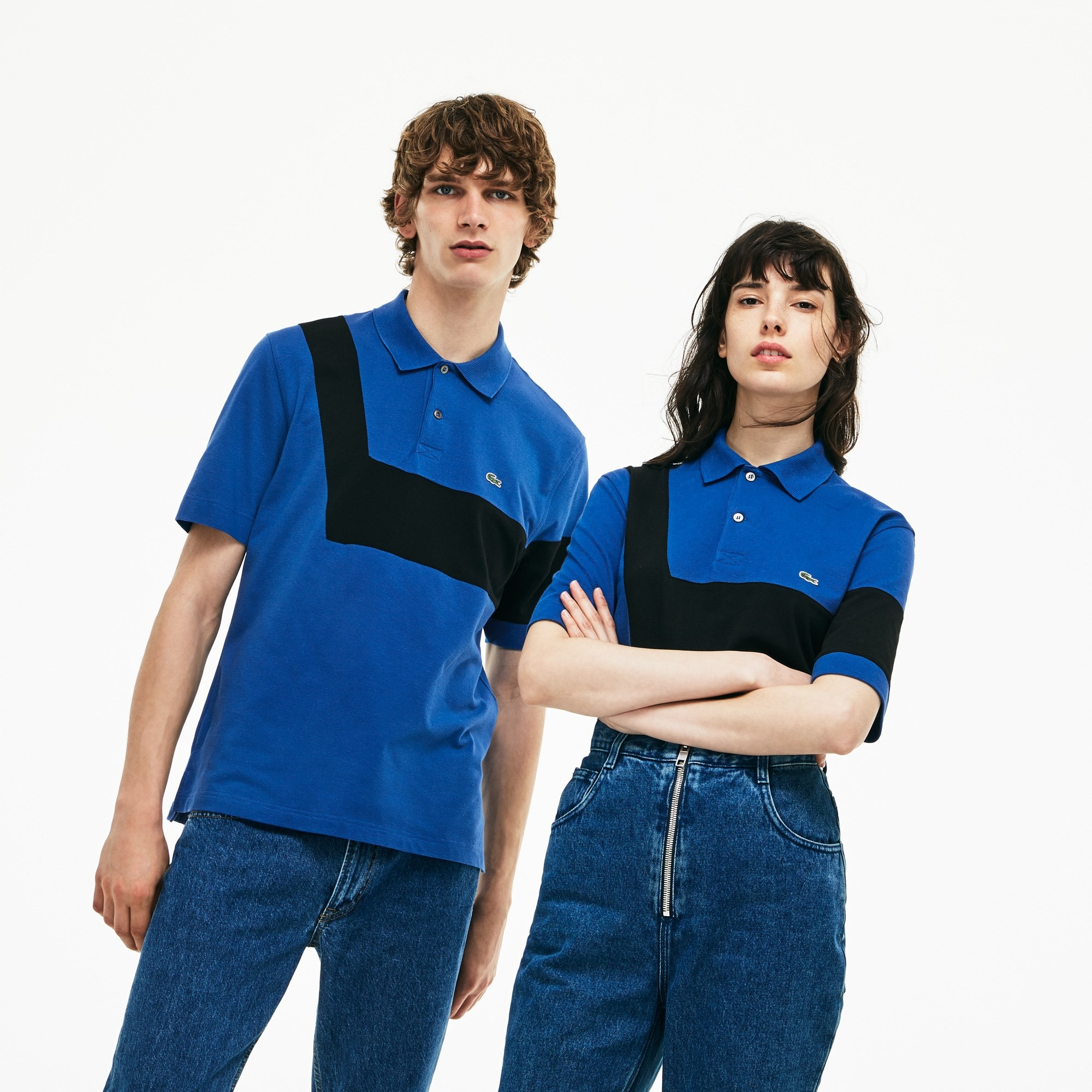 Unisex Lacoste 2000s Revival 85th Anniversary Limited Edition Light Cotton Polo Shirt