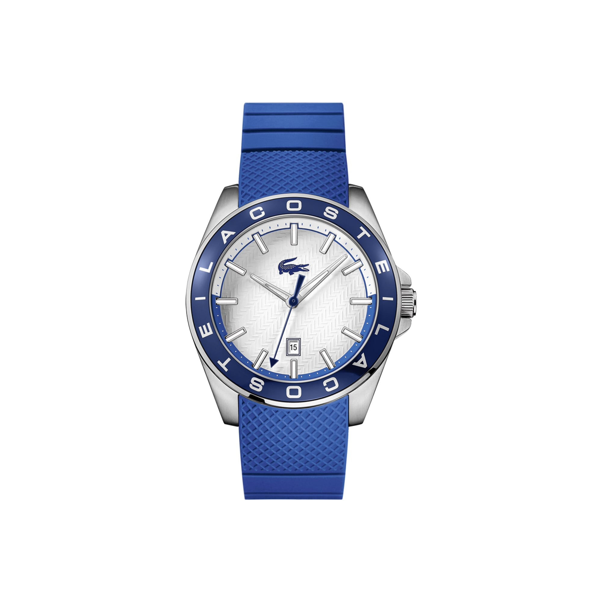 Men's Westport Watch with Blue Silicone Strap