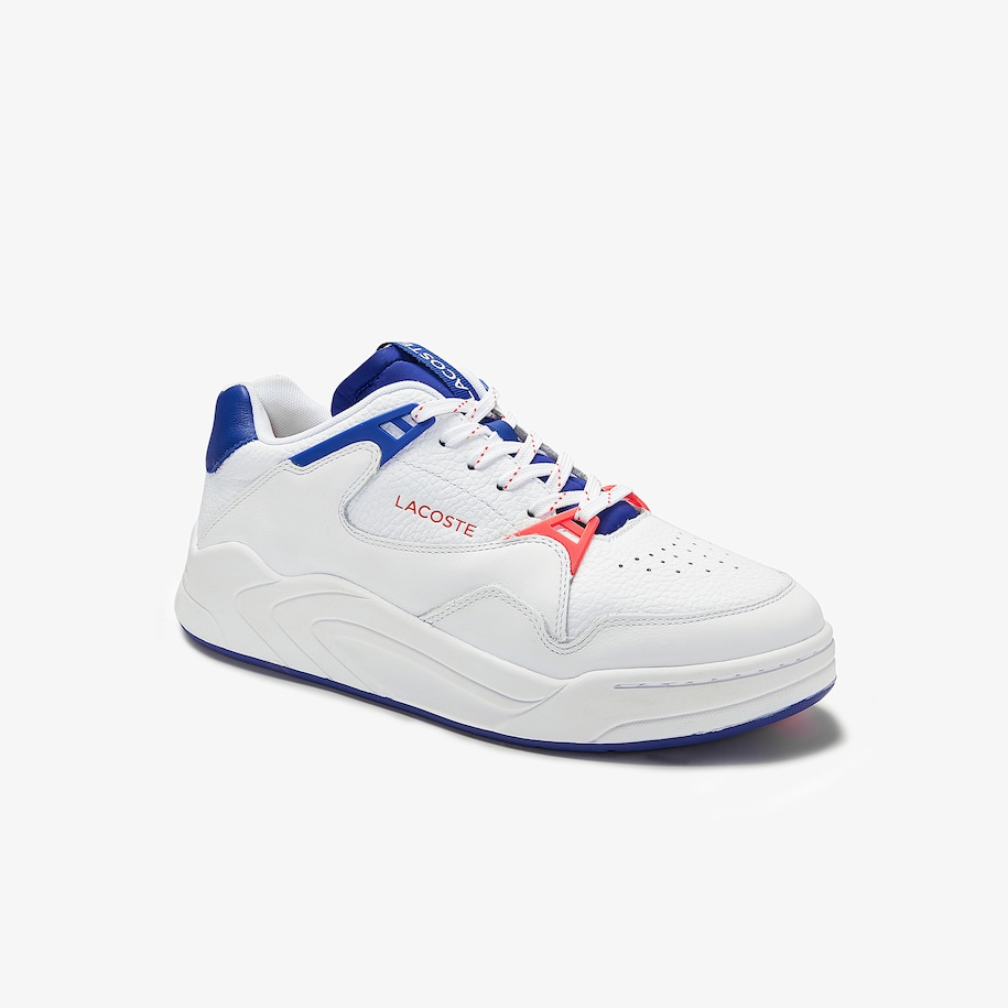 Men's Court Slam Leather Trainers