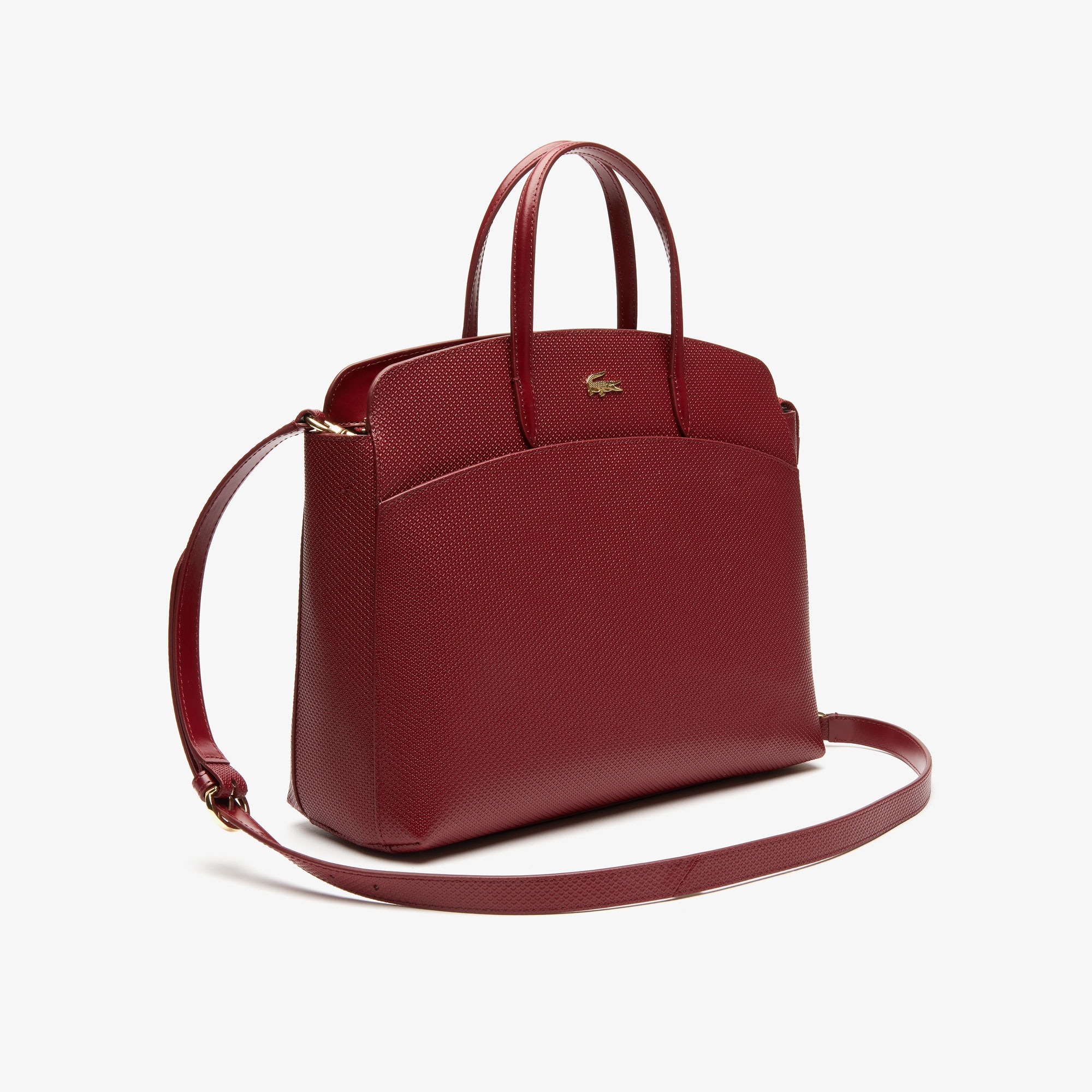 Women's Chantaco Piqué Leather Zip Pocket Tote Bag