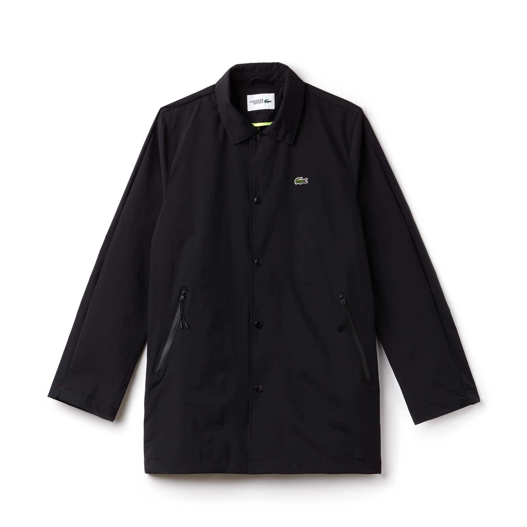 Men's Lacoste SPORT Coated Twill Raincoat