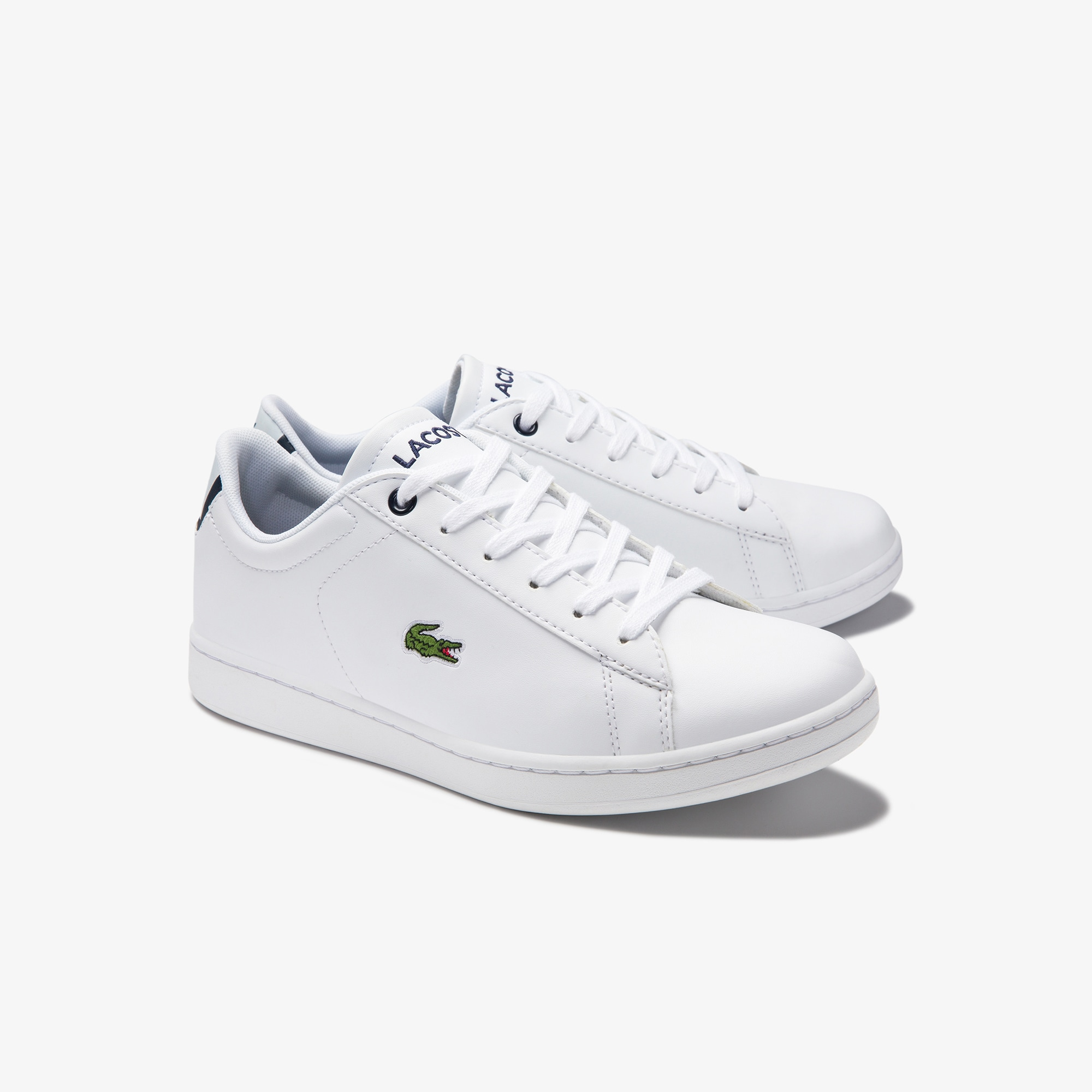 c160319cd Juniors' Carnaby Evo Synthetic Trainers | LACOSTE