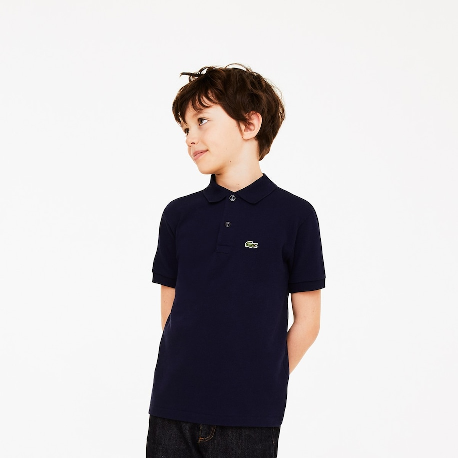 Kids' Lacoste Regular Fit Petit Piqué Polo Shirt