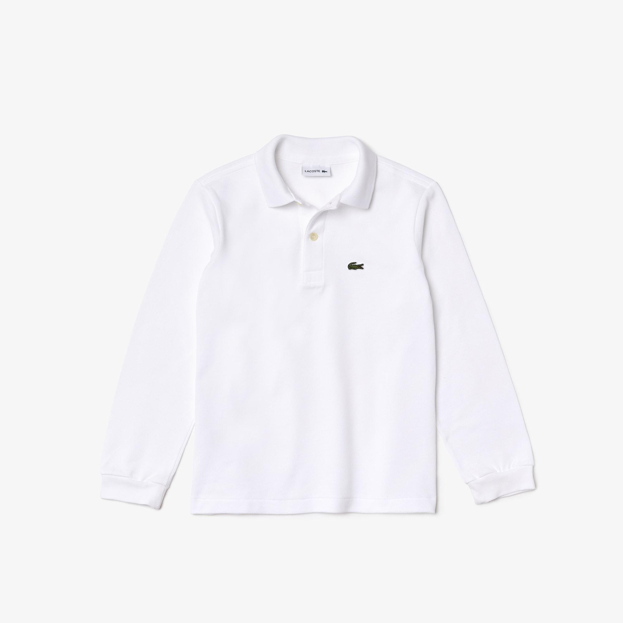 Boys' Lacoste Petit Piqué Polo Shirt