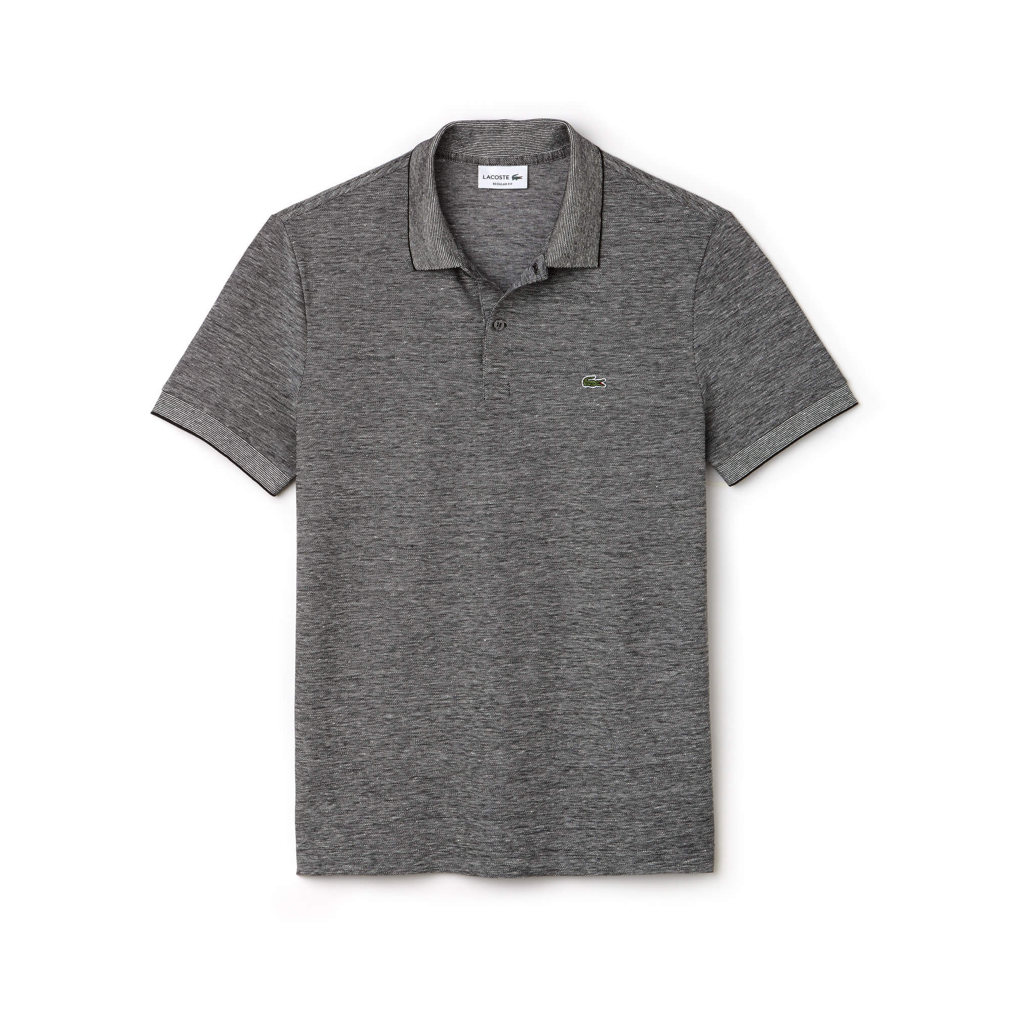 Men's Lacoste Regular Fit Texturized Caviar Piqué Polo Shirt