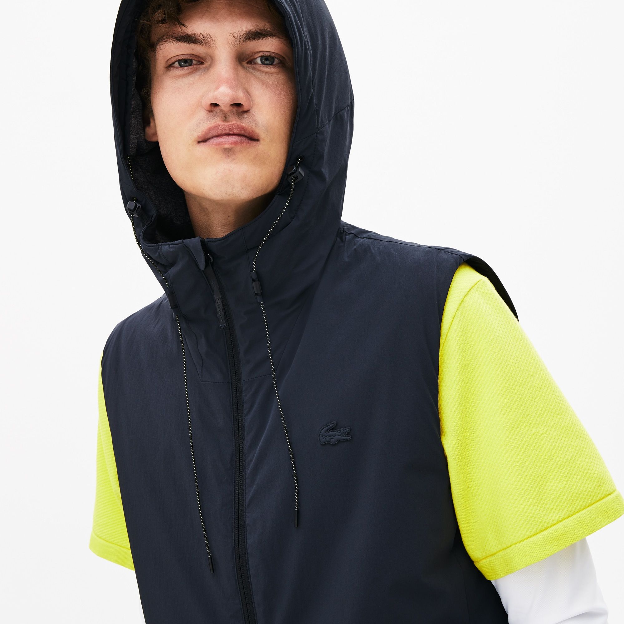 Men's Lacoste Motion Lightweight Hooded Jacket