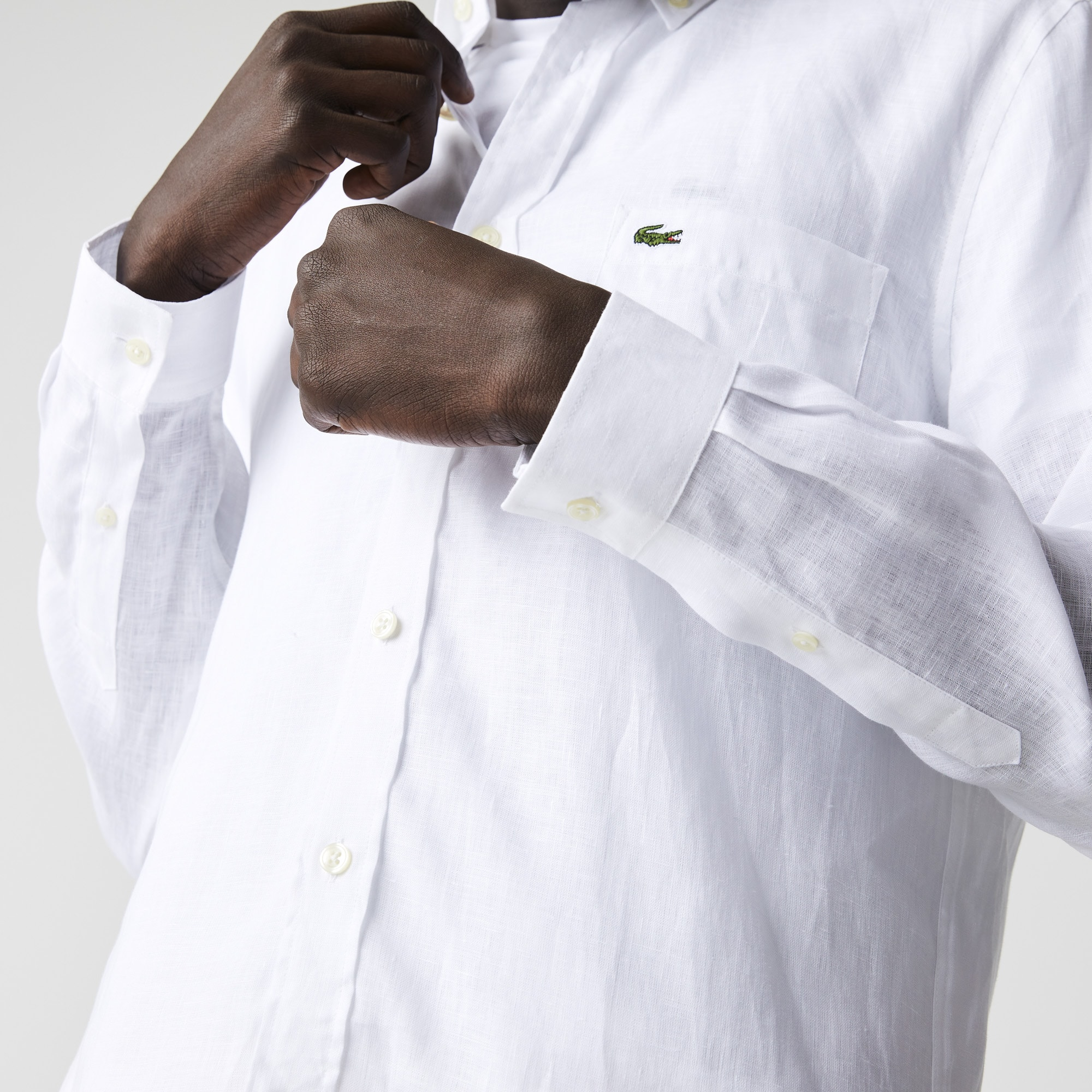 Men's Regular Fit Linen Shirt