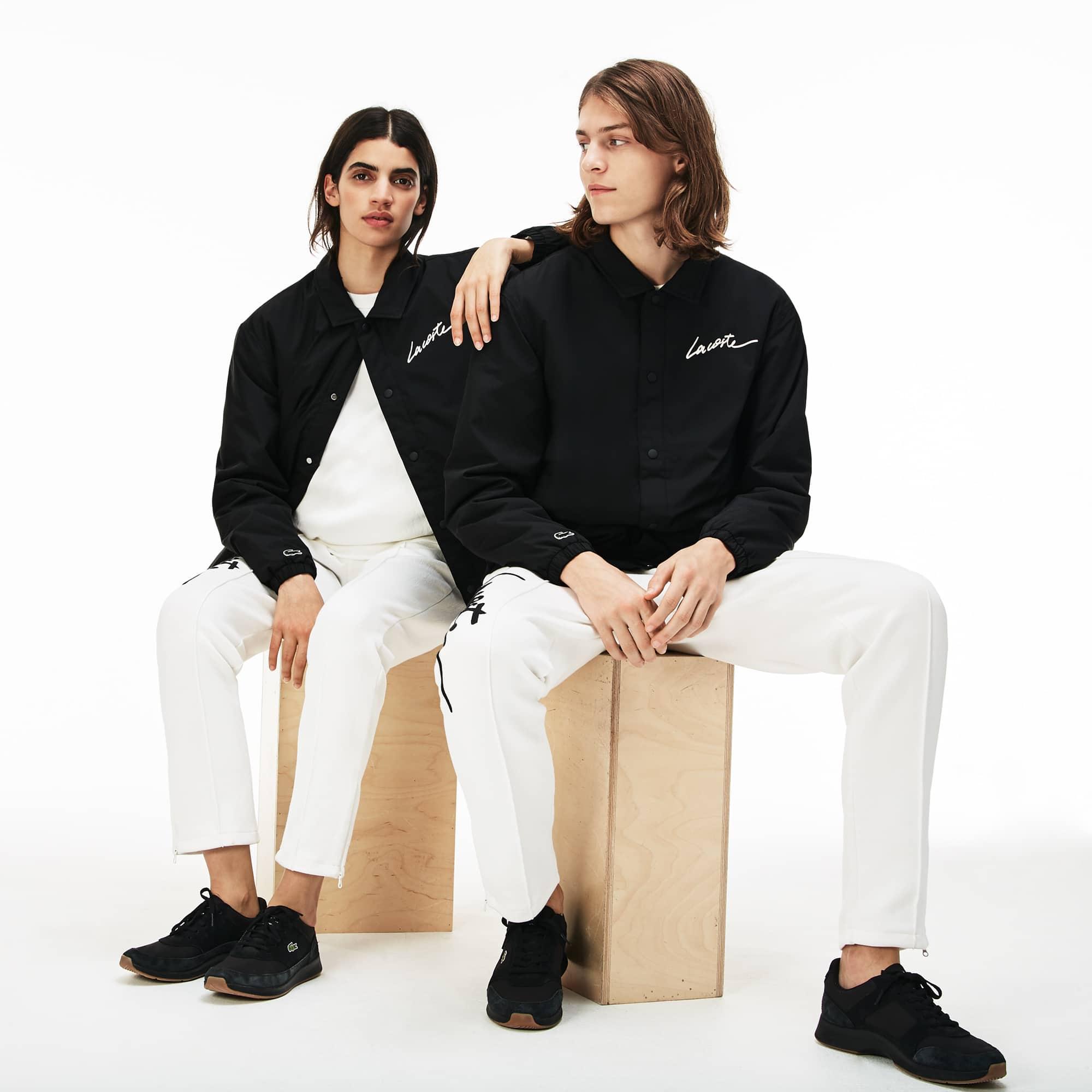 Men's Lacoste LIVE Lacoste Signature Taffeta Jacket