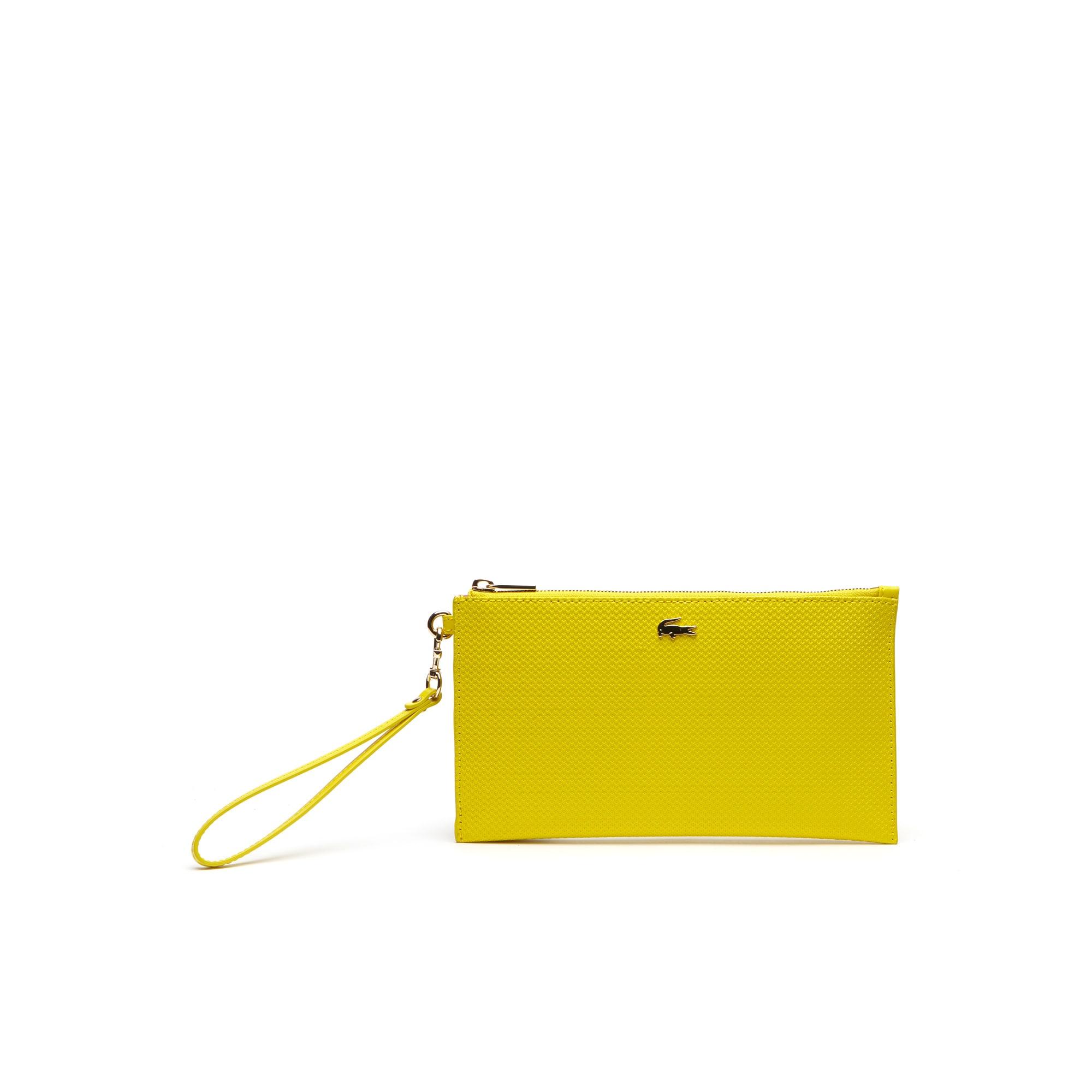 Women's Chantaco Piqué Leather Clutch Bag