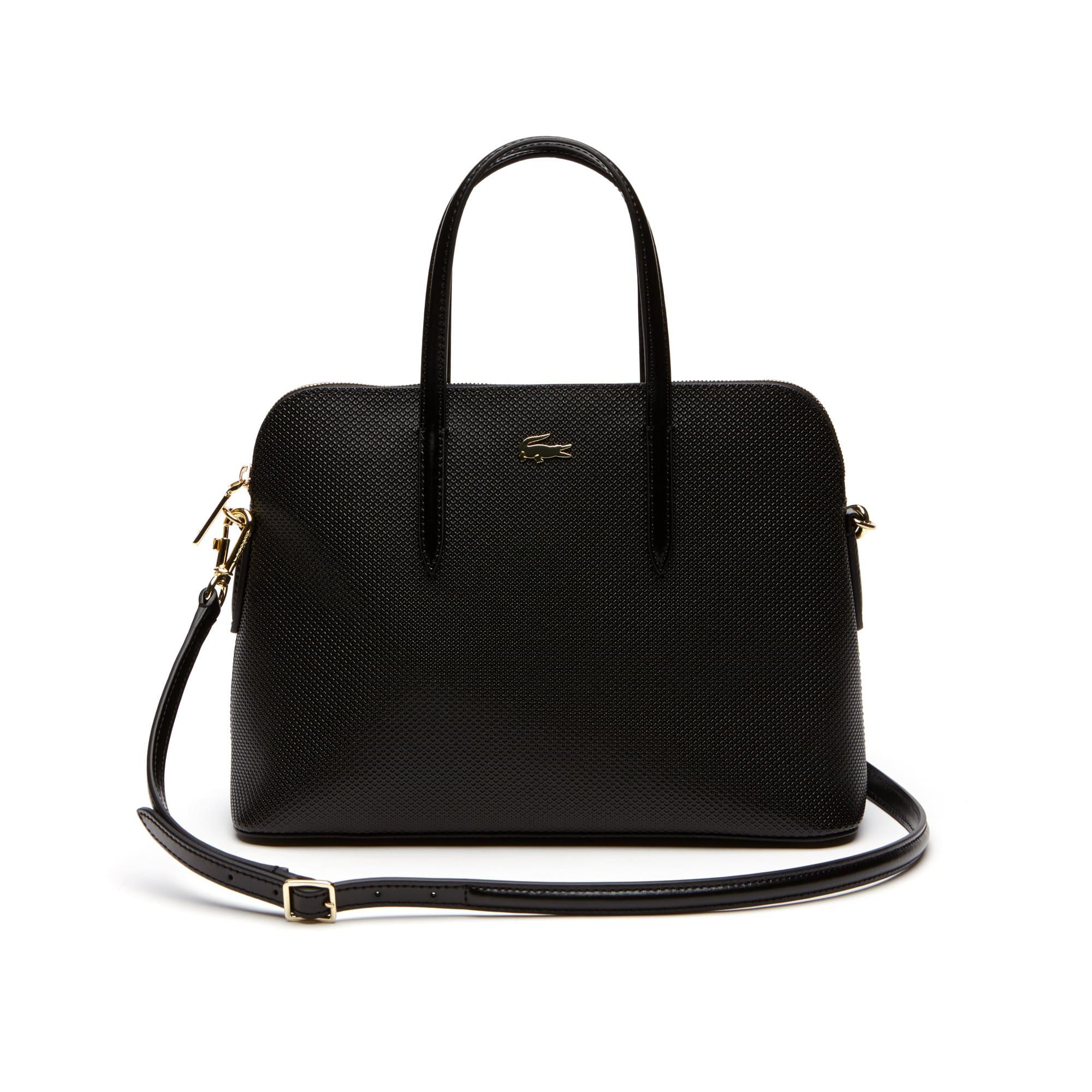 Women's Chantaco Dual Carry Piqué Leather Bugatti Bag