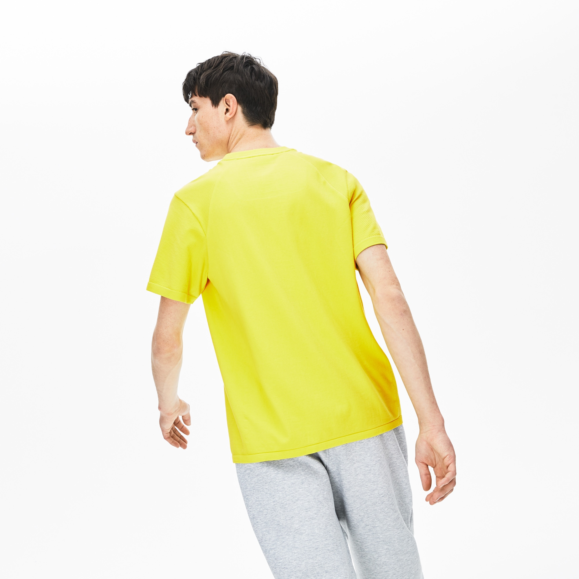 Men's Lacoste Motion Breathable Seamless T-shirt