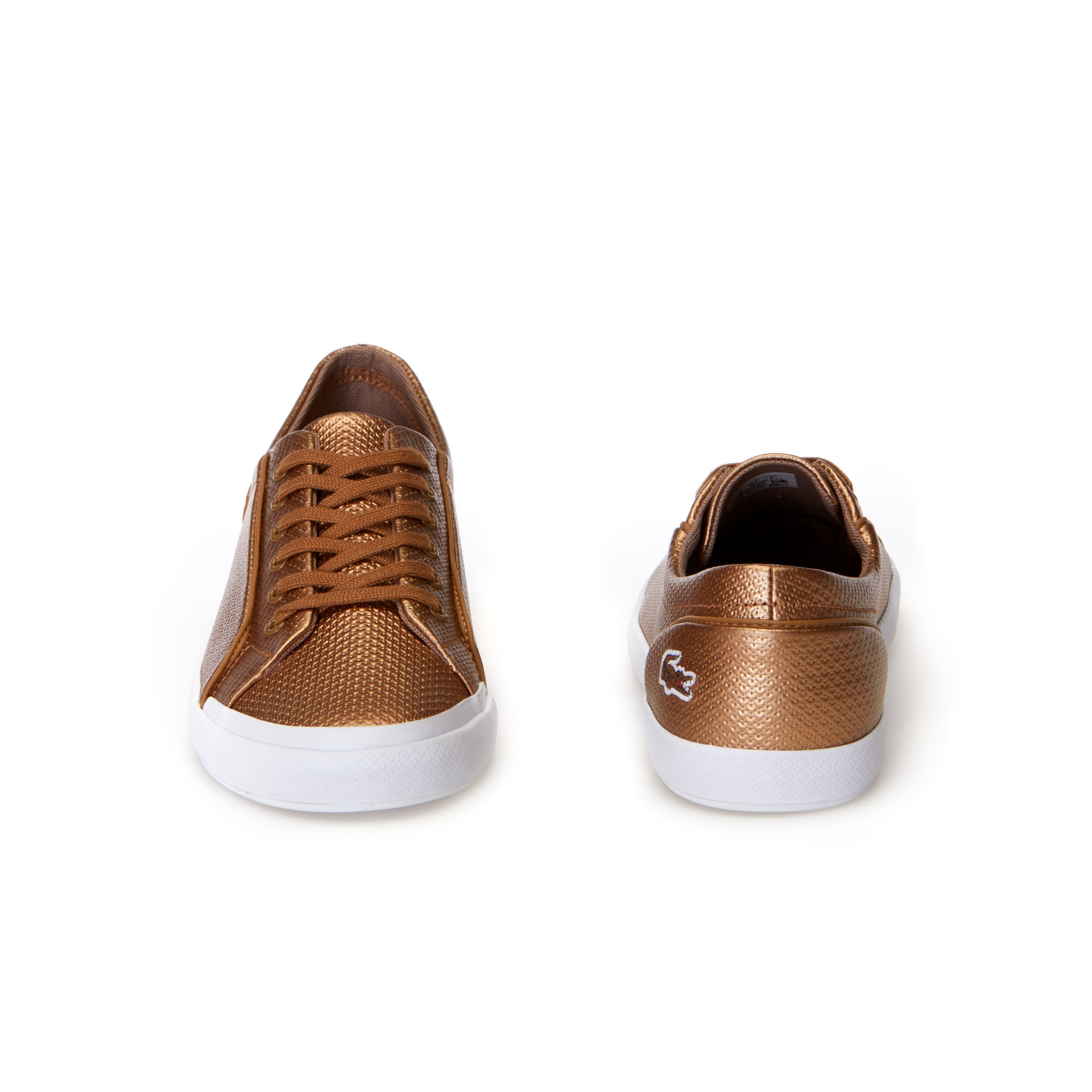 Women's Lancelle Bronze Chantaco Leather Trainers