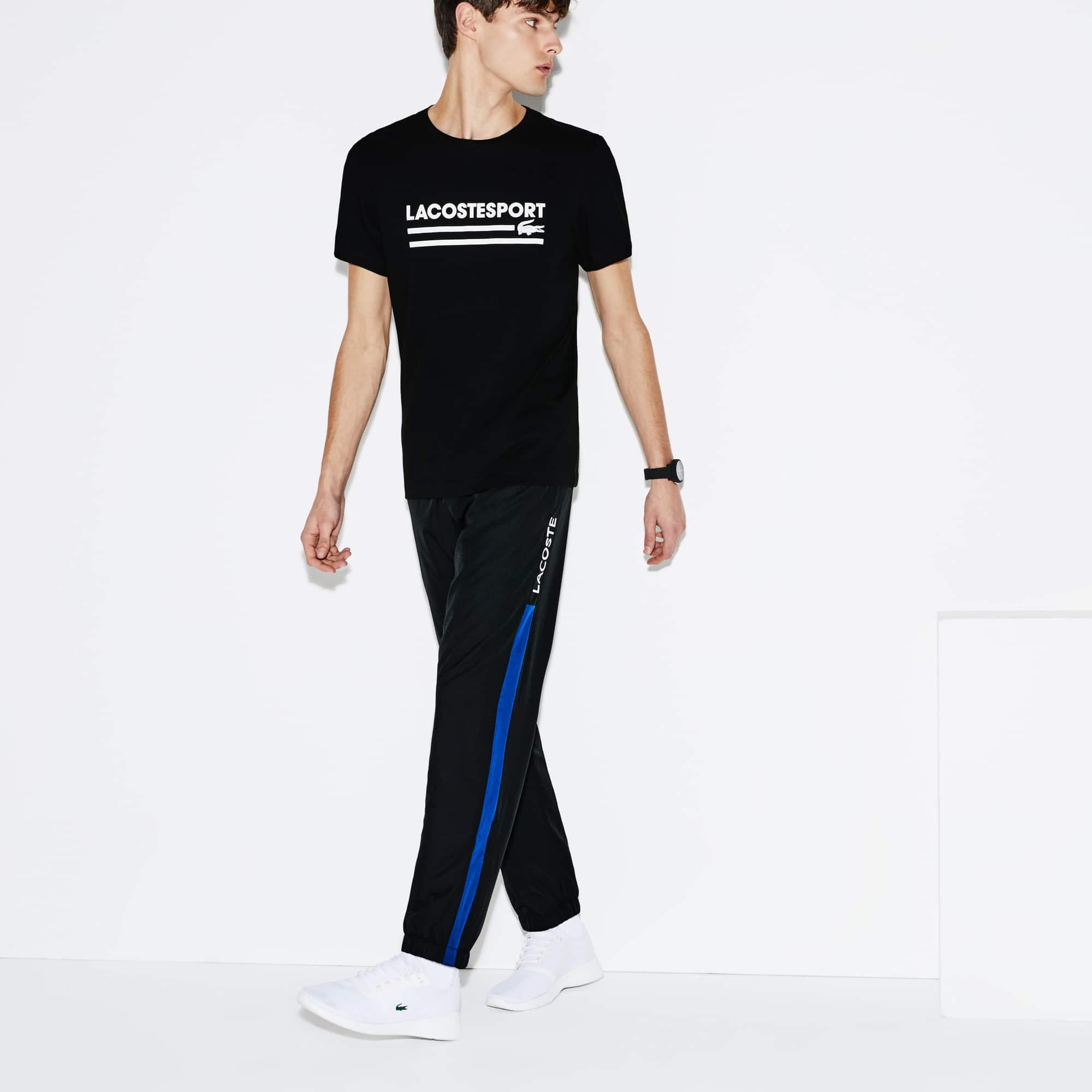 Men's Lacoste SPORT Colorblock Band Tennis Sweatpants