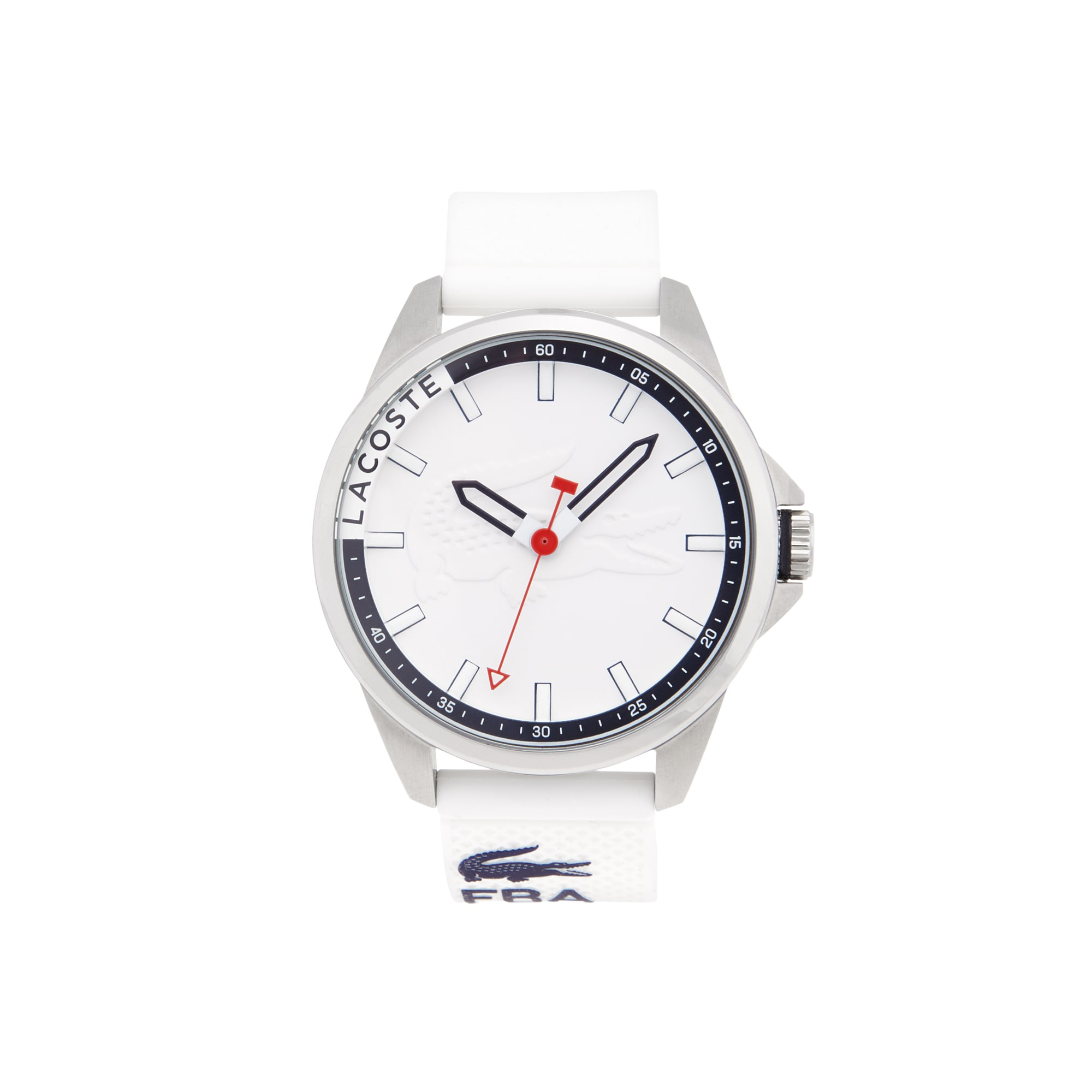 Men's Capbreton Watch with White Silicone Strap