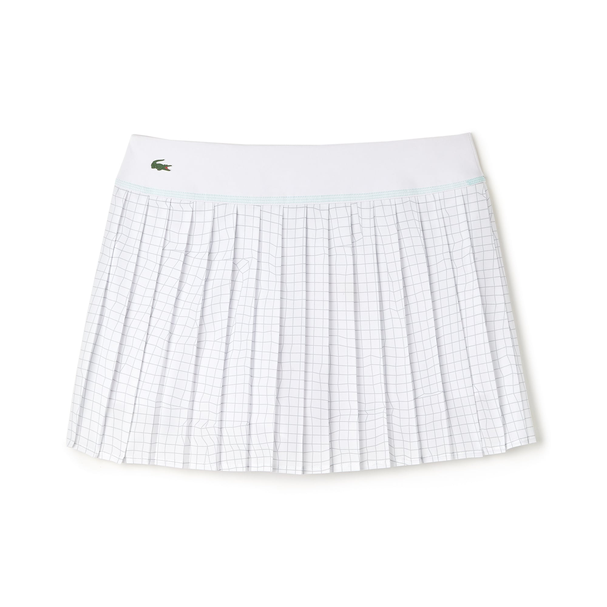 Women's Lacoste SPORT Tennis Technical Mesh Pleated Skirt