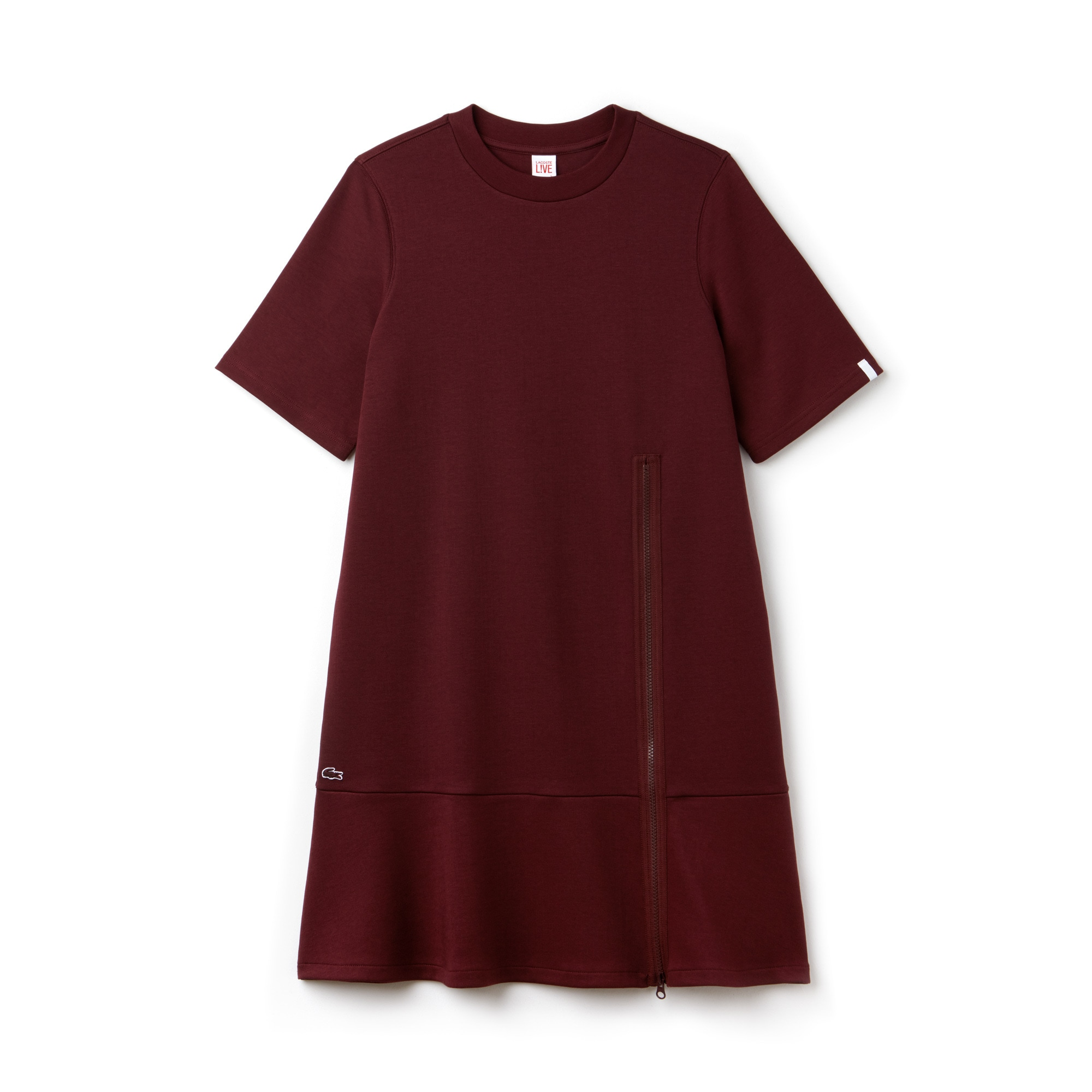 Women's Lacoste LIVE Interlock Zip Sweatshirt Dress