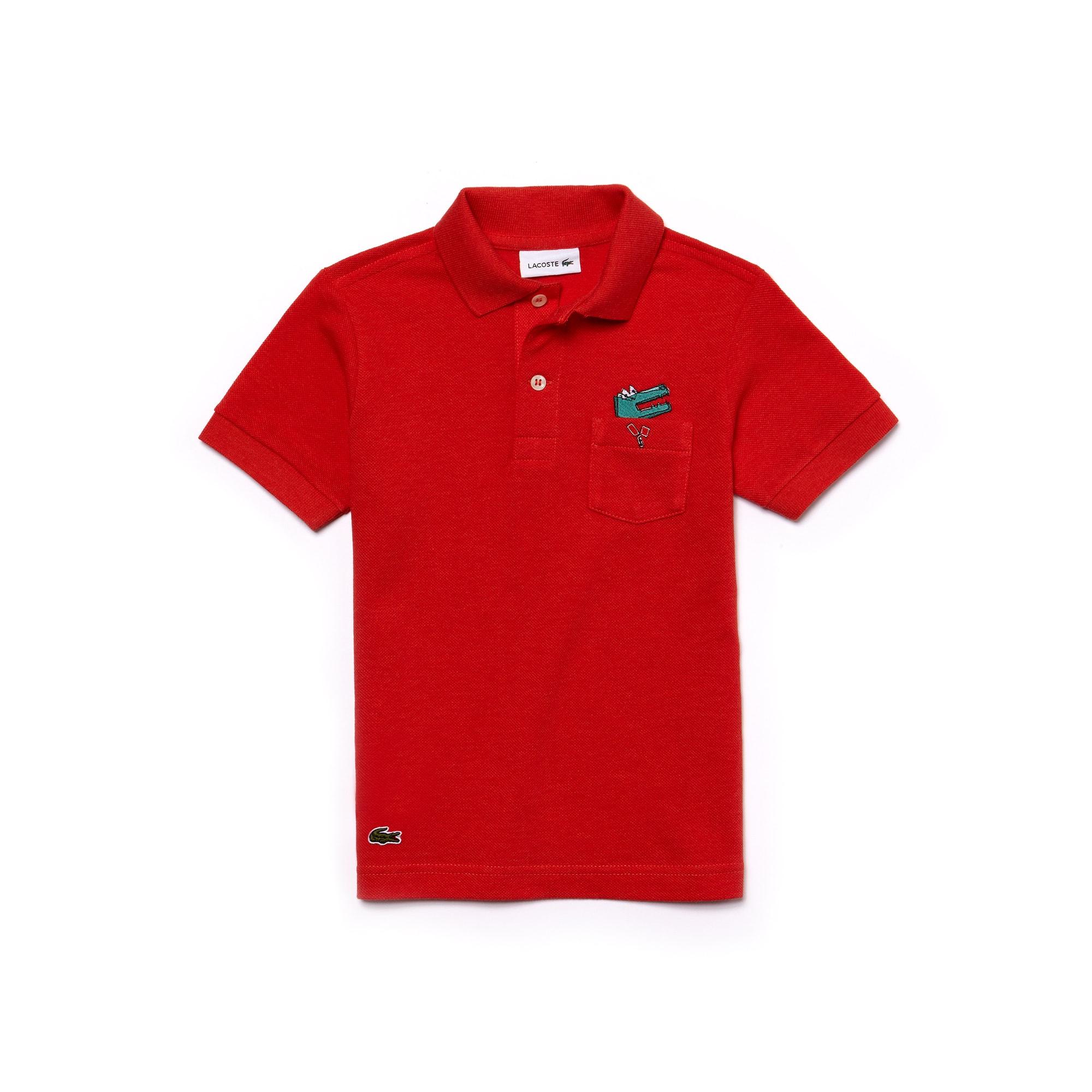 Boys' Lacoste Piqué Polo Shirt