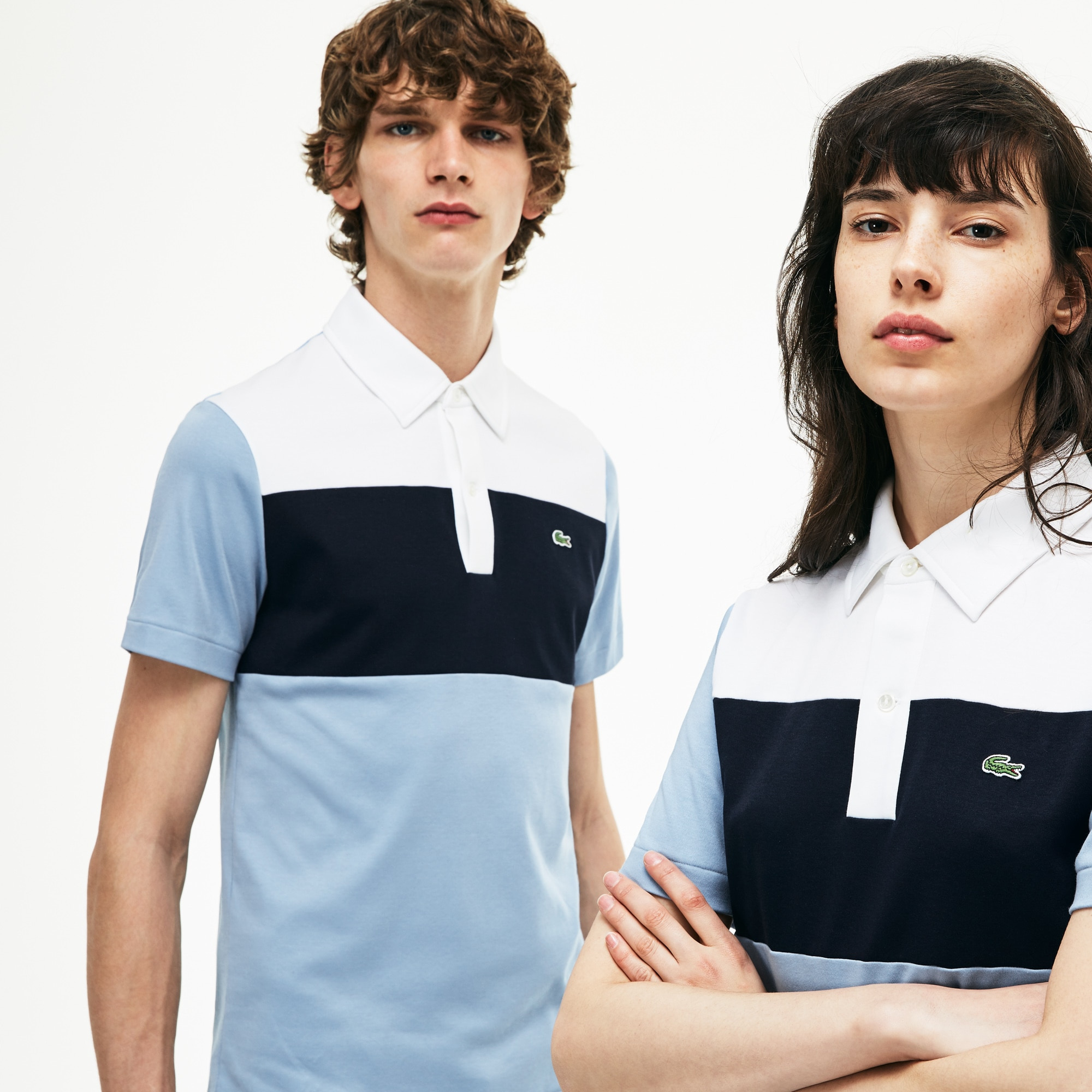 Unisex 1970s revival Lacoste 85th Anniversary Limited Edition Interlock Polo Shirt