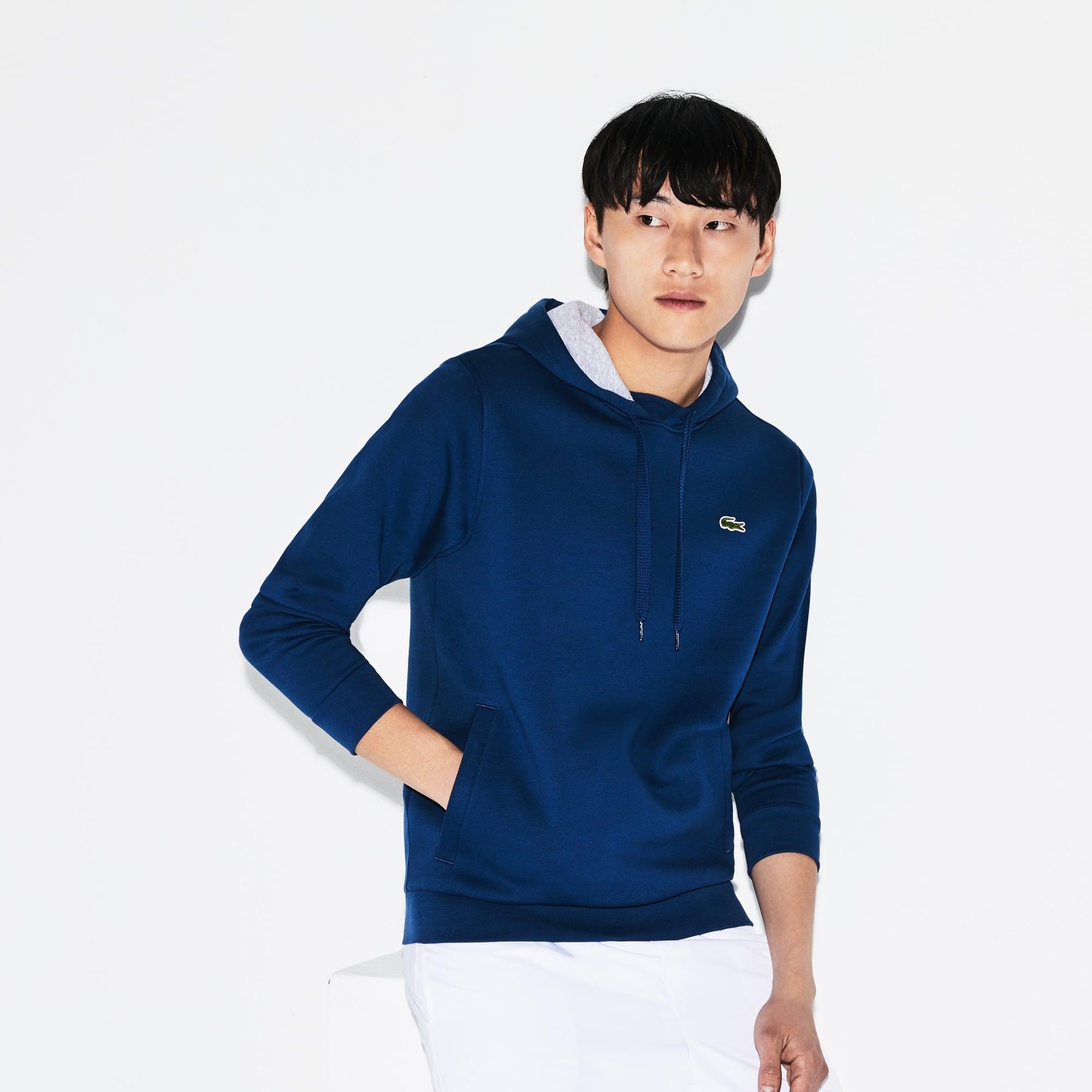 Men's Lacoste Sport Hooded Fleece Tennis Sweatshirt