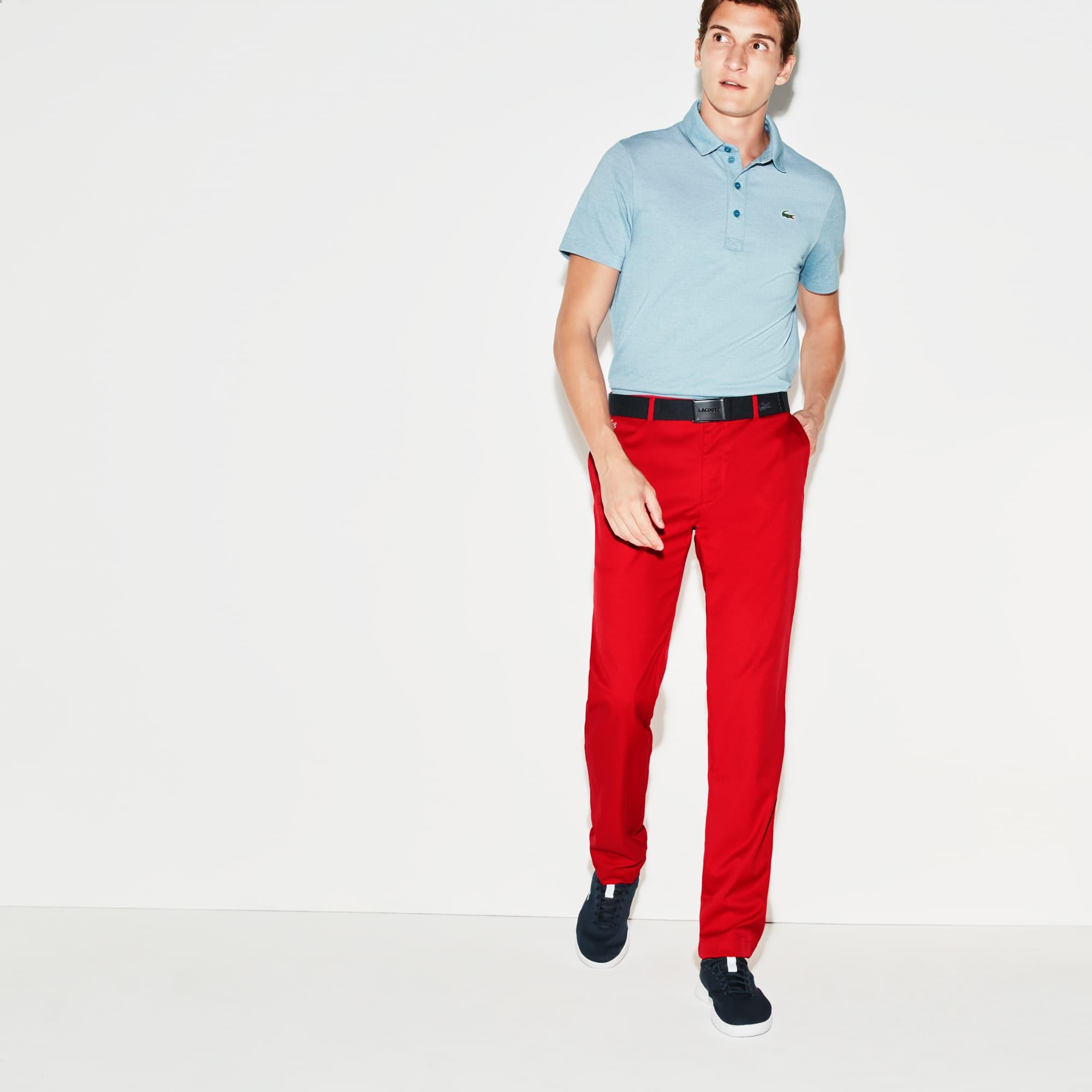 Men's Lacoste SPORT Golf chino pants in ultra-dry technical gabardine