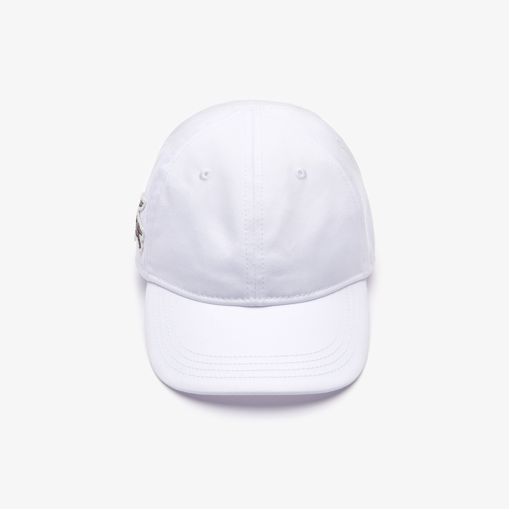 Women's Check Croc Badge Cotton Cap