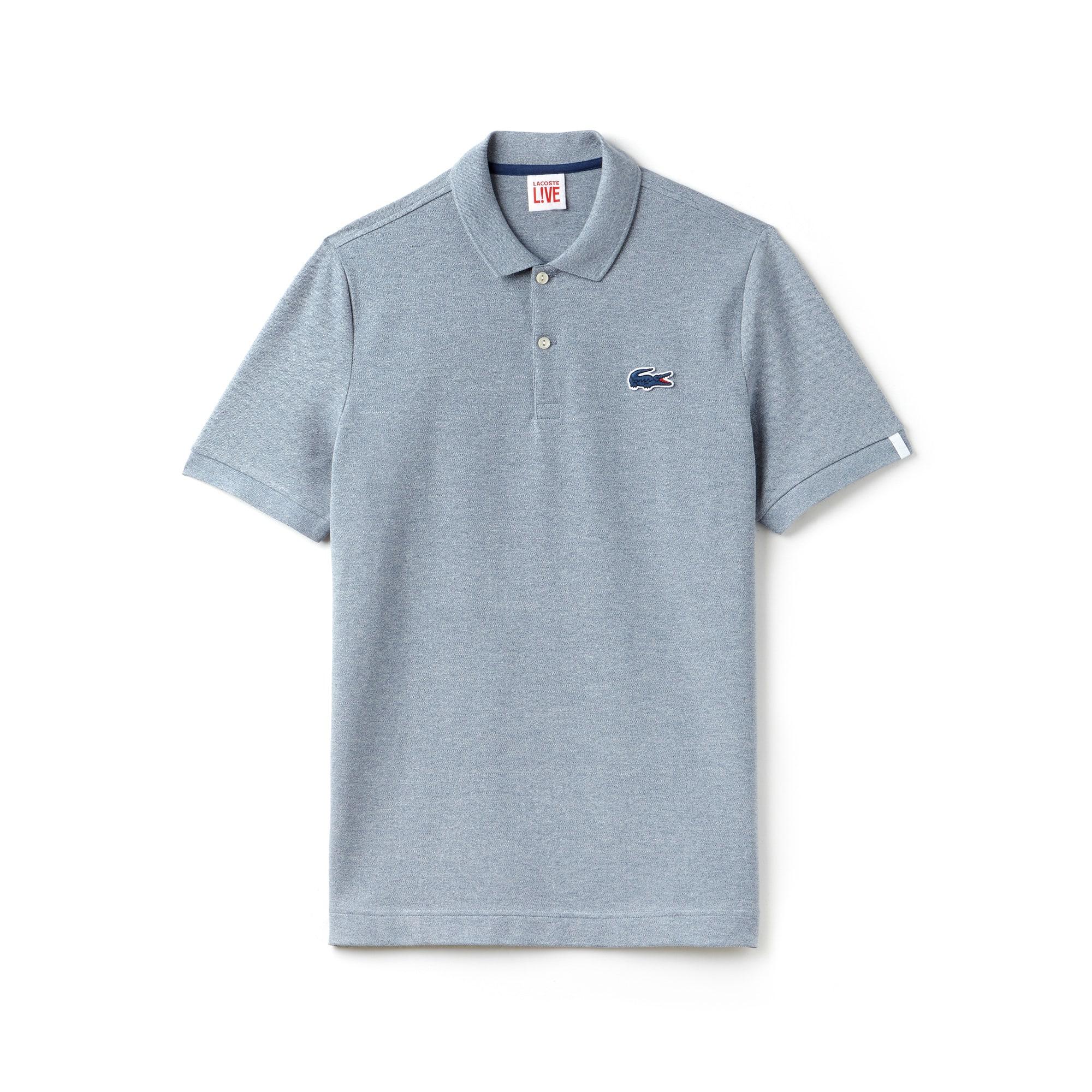 Men's Lacoste LIVE Slim Fit Stretch Mini Piqué Polo