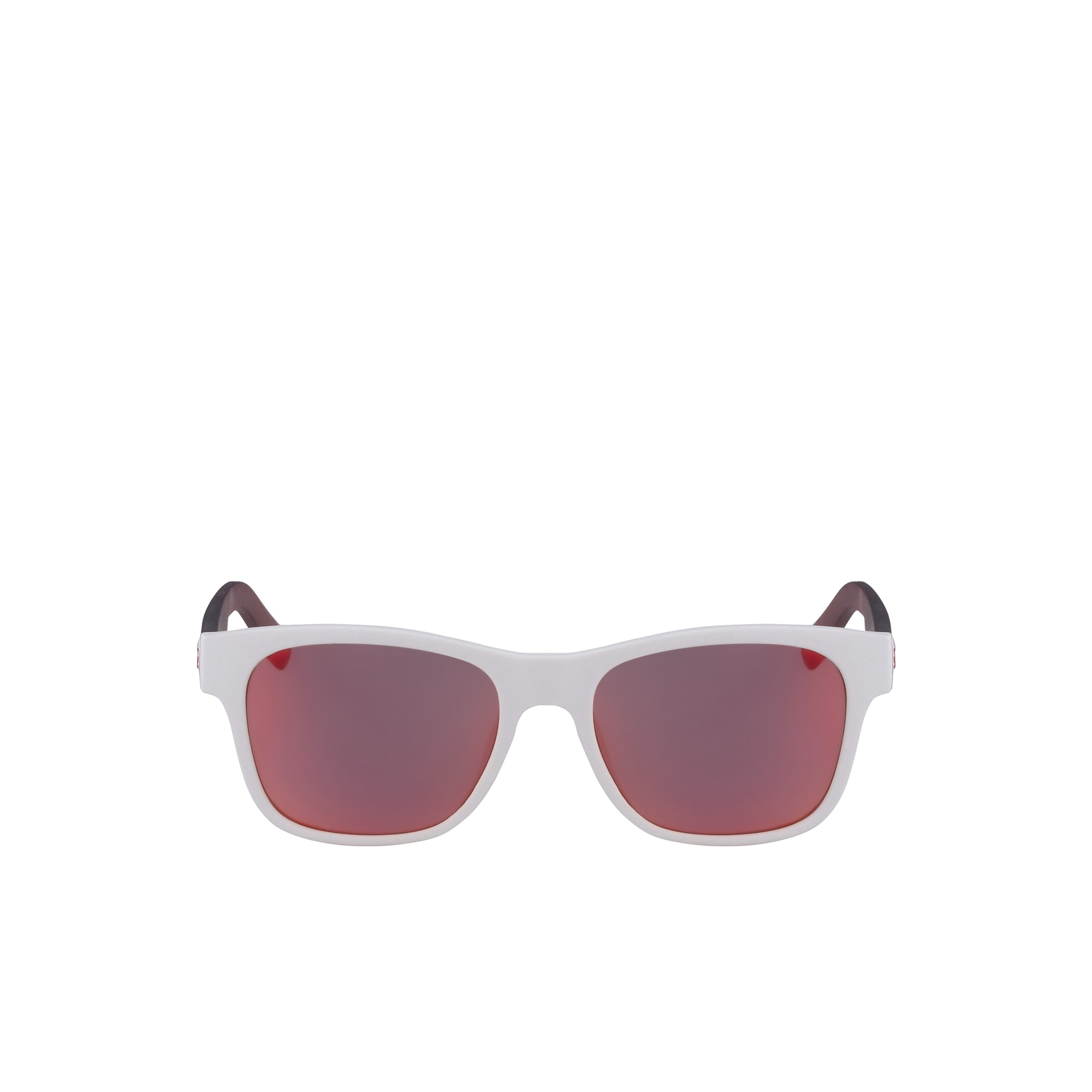 Plastic Color Block - Fan Sunglasses