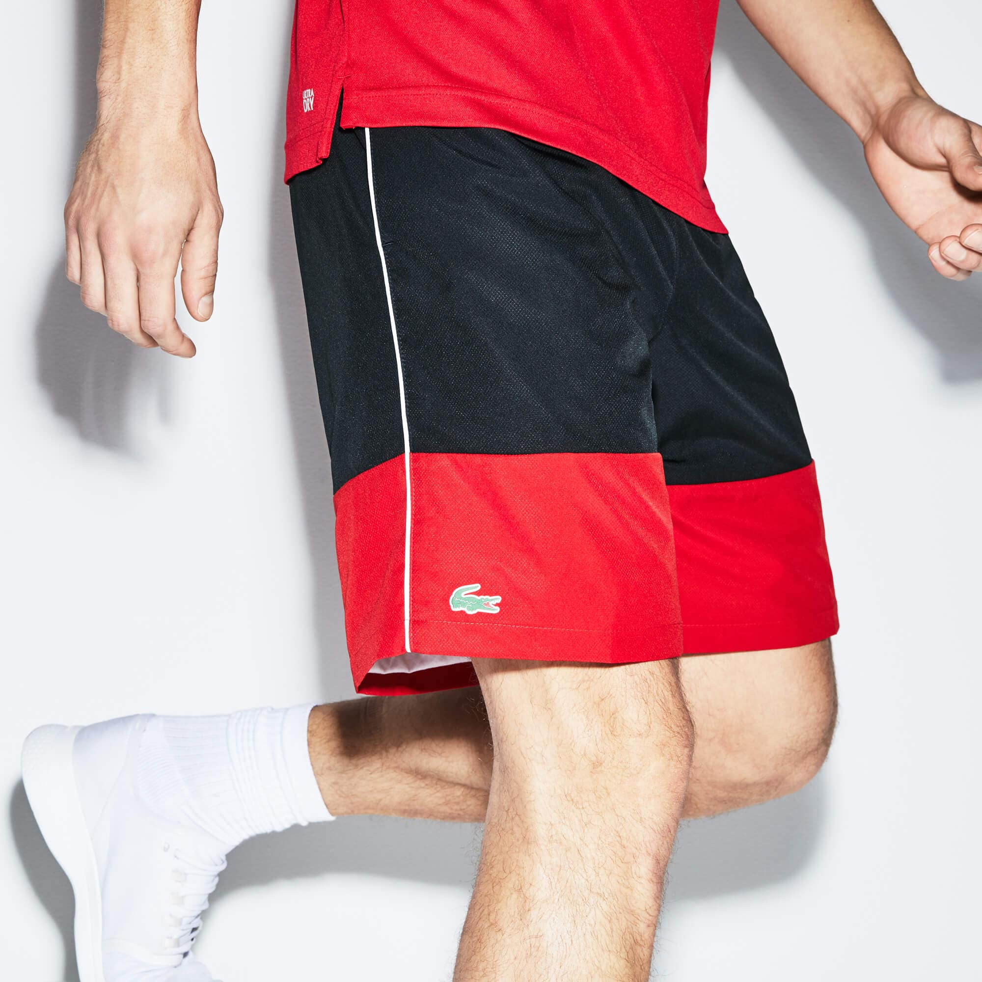 Men's Lacoste SPORT Colorblock Taffeta Shorts