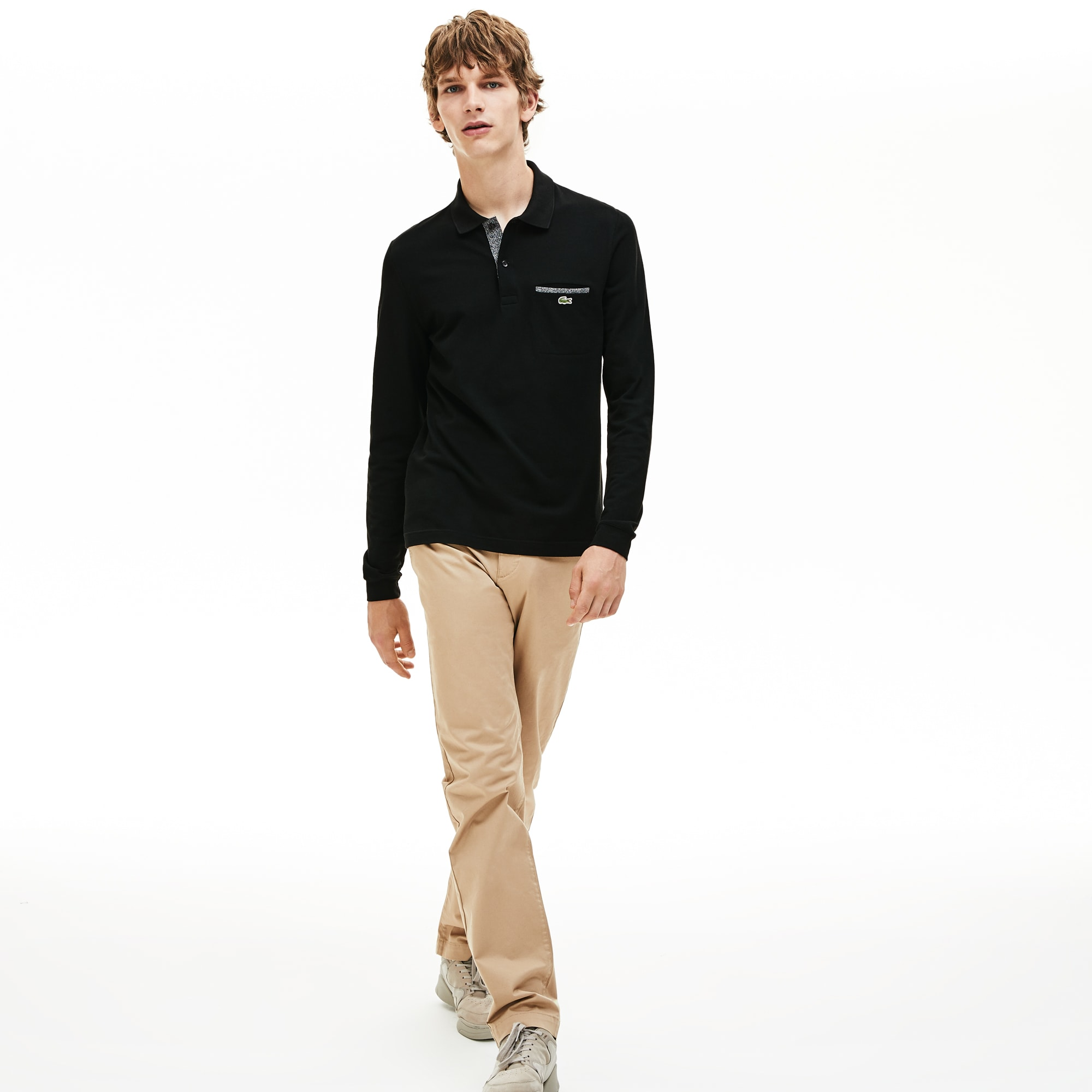 Men's Lacoste Regular Fit Pocket Polo Shirt