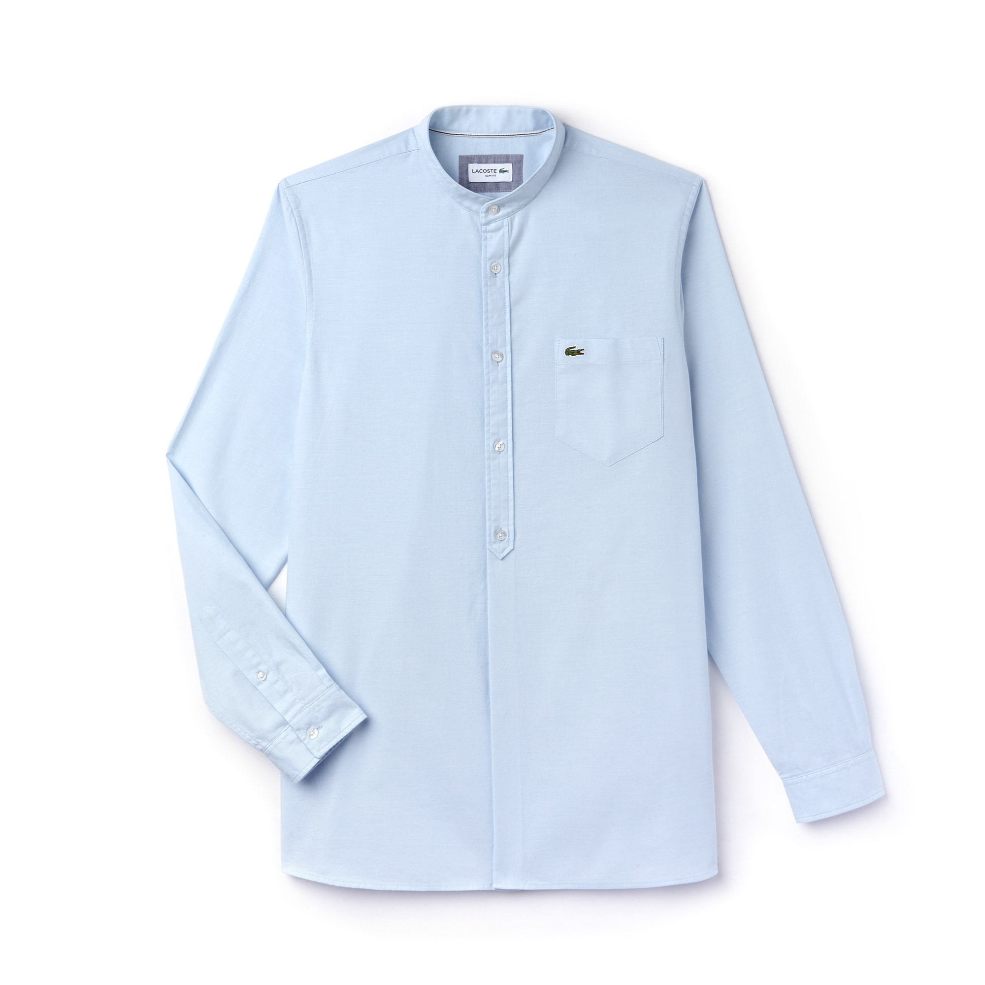 Men's Slim Fit Cotton Chambray Shirt