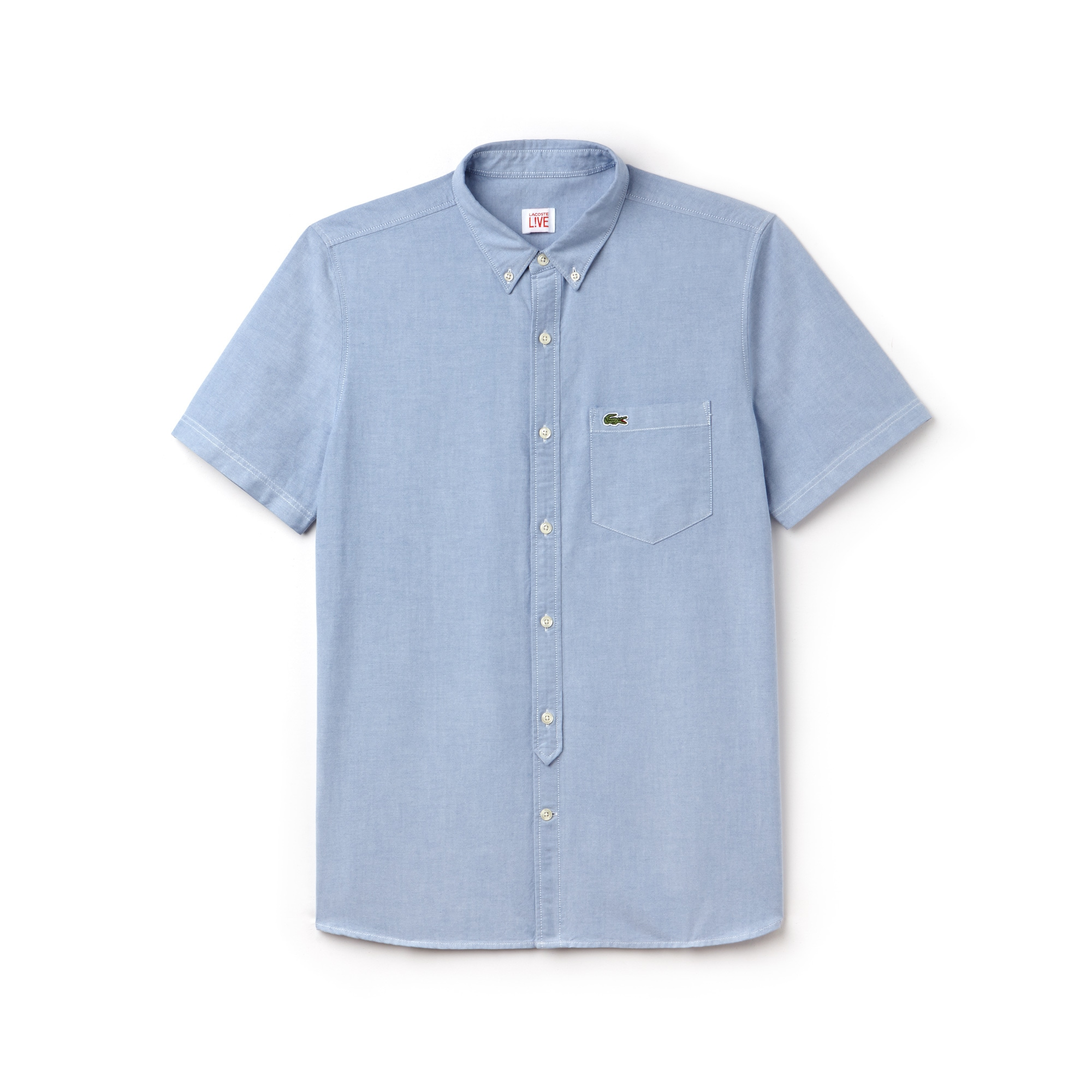 Men's Lacoste LIVE Oxford Cotton Shirt