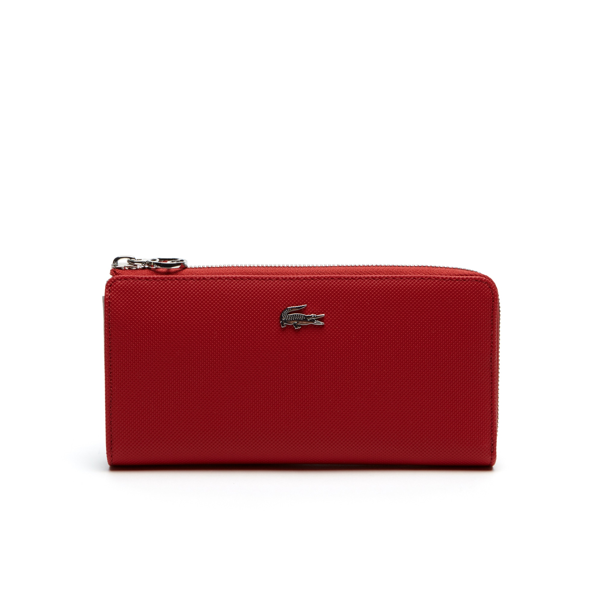 Women's Daily Classic Coated Piqué Canvas 10 Card Zip Wallet