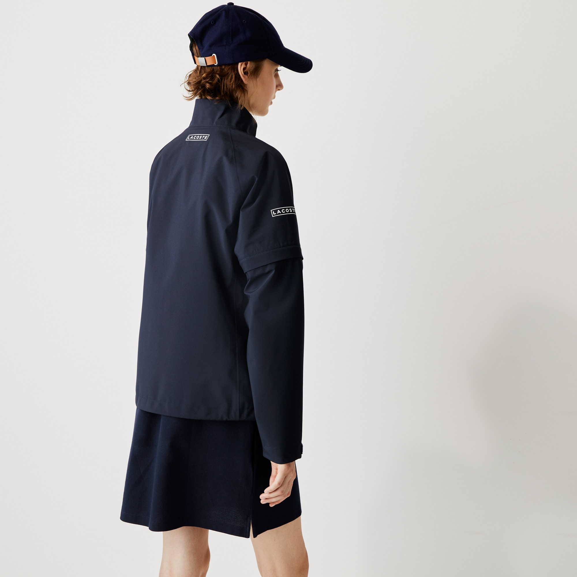 Women's Lacoste SPORT Technical Zip Golf Rain Jacket