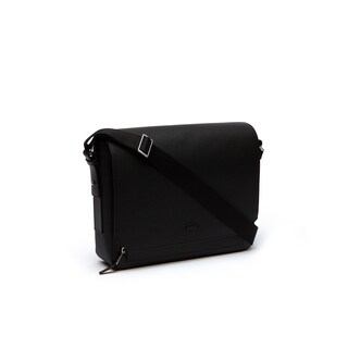 Men's Chantaco Matte Piqué Leather Flap Bag