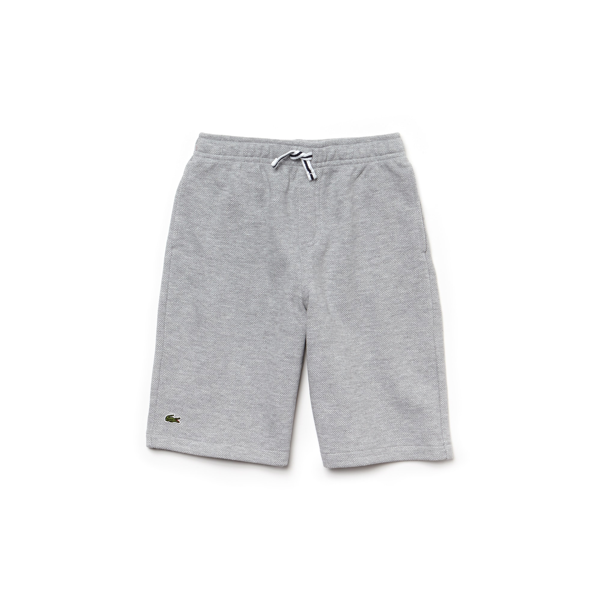 Boys' Brushed Fleece Piqué Bermuda Shorts