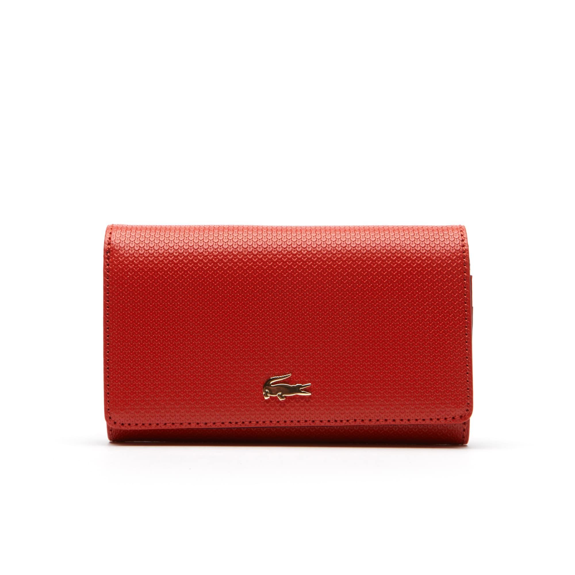 Women's Chantaco Bicolour Piqué Leather Six Card Wallet