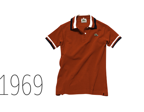 Graphic details: the polo in red