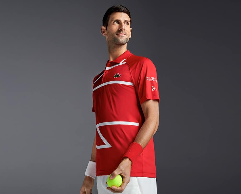 Novak Djokovic Novak Collection Lacoste