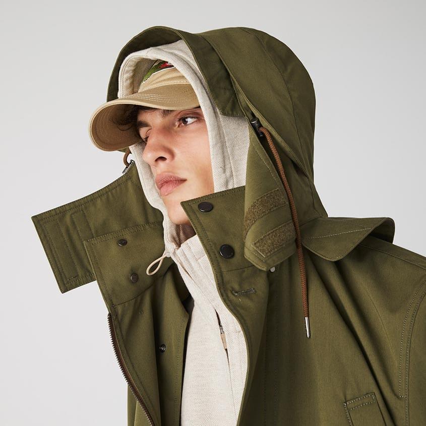 Inside Abrigo Impermeable para Hombre