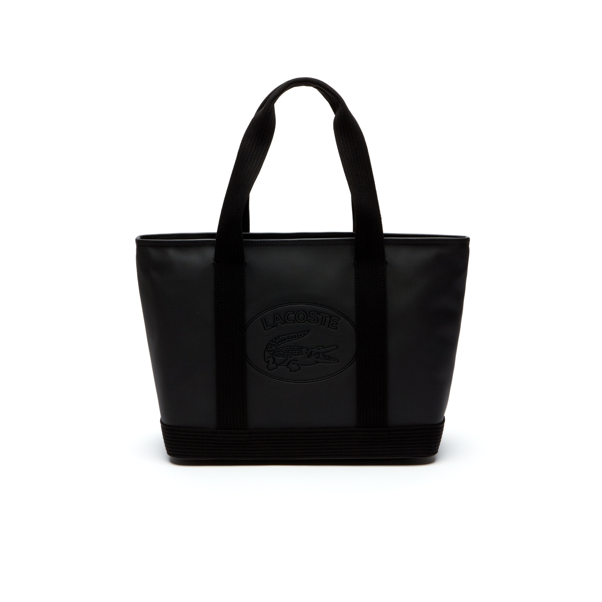 Damen Classic Tote Bag aus beschichtetem Piqué-Canvas